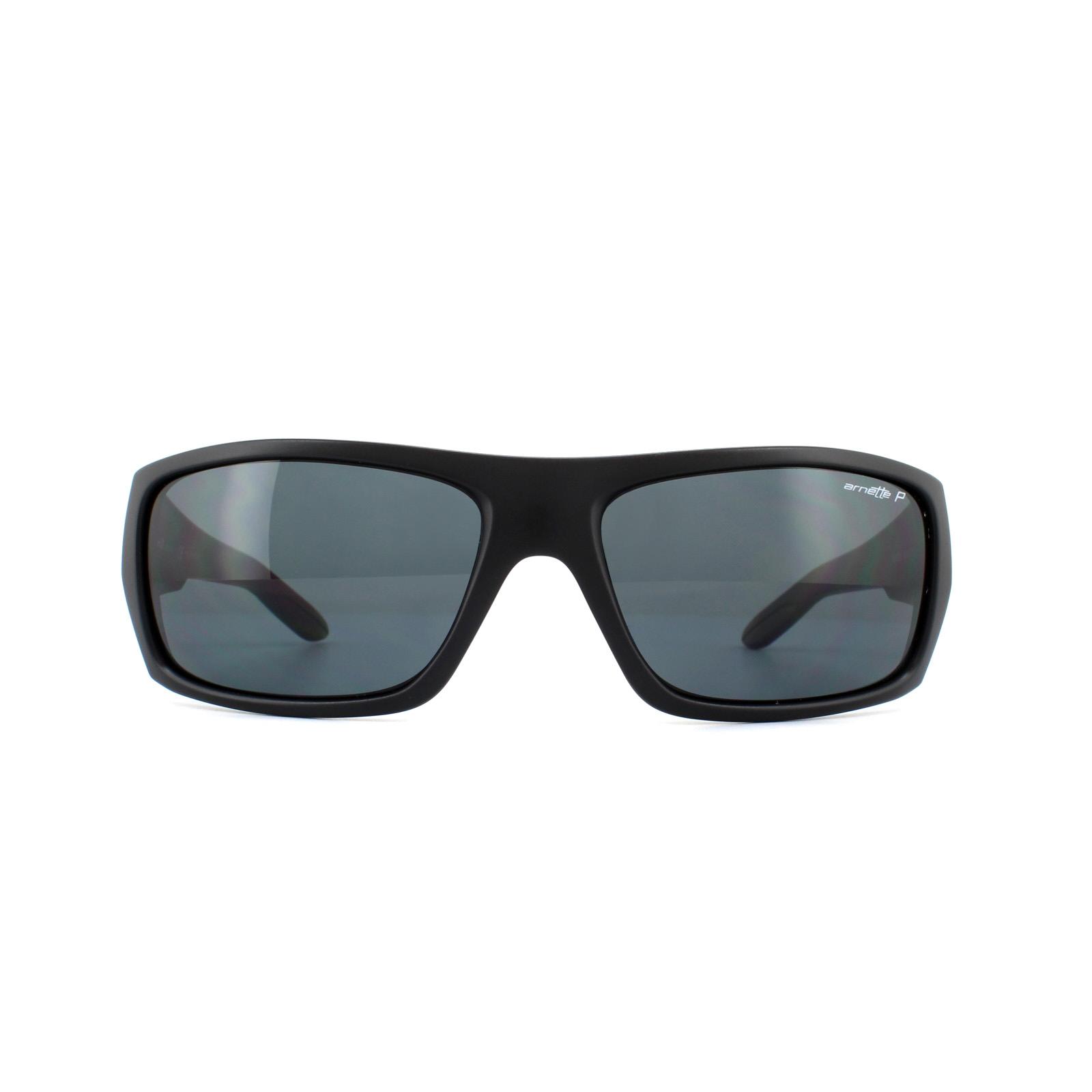 68a2c56bab71 Sentinel Arnette Sunglasses 4164 Munson 01 81 Black Grey Polarized