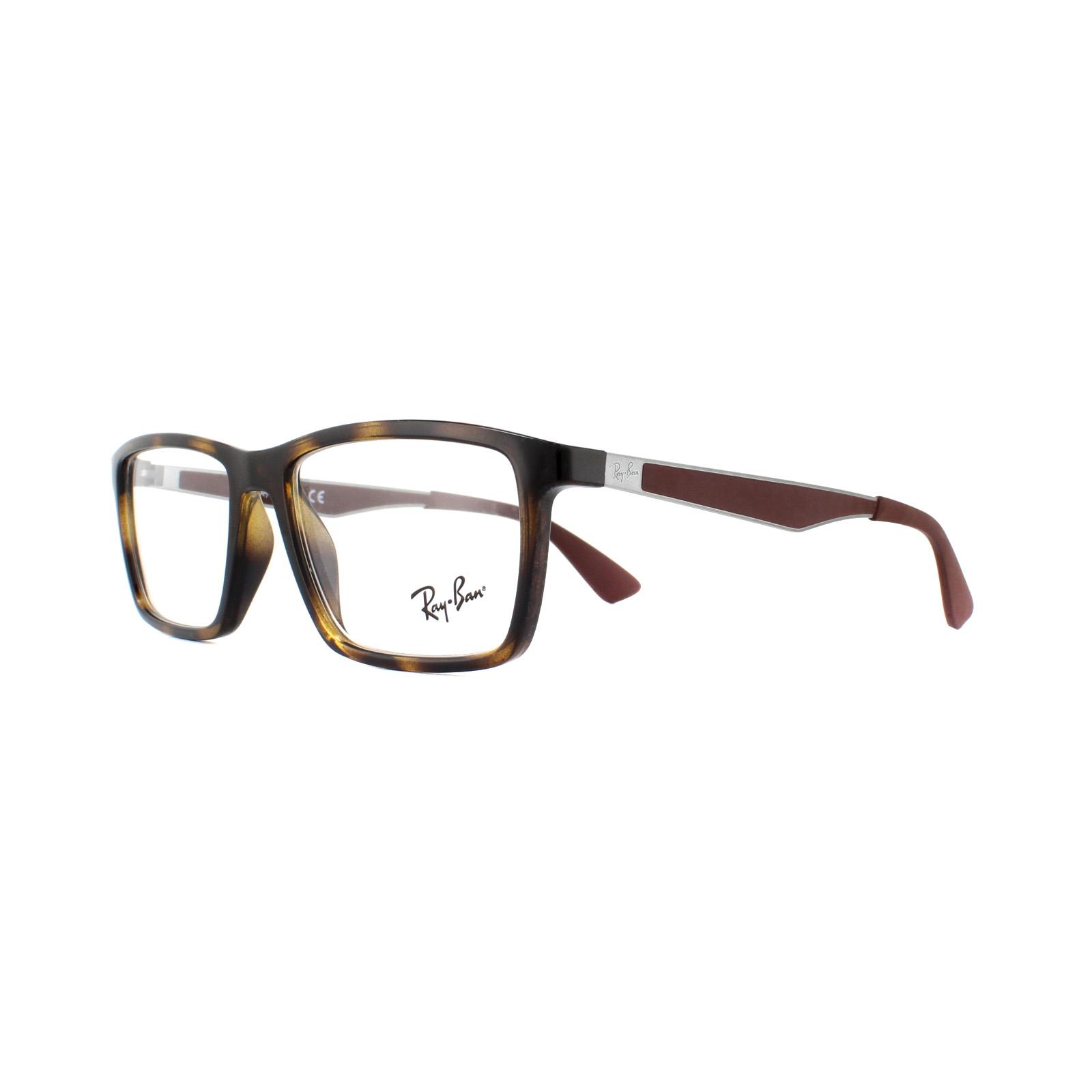 6f8d9380b2 Ray-Ban Glasses Frames 7056 2012 Shiny Havana 53mm 8053672403015
