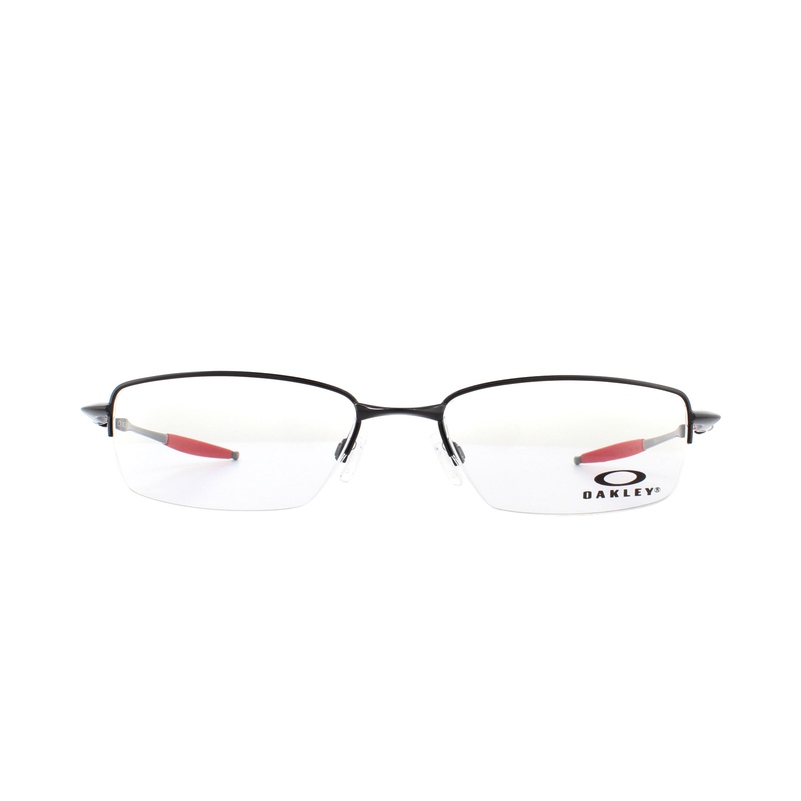 4b1586b5aa Sentinel Oakley Glasses Frames Coverdrive OX3129-07 Polished Black and Red  53mm