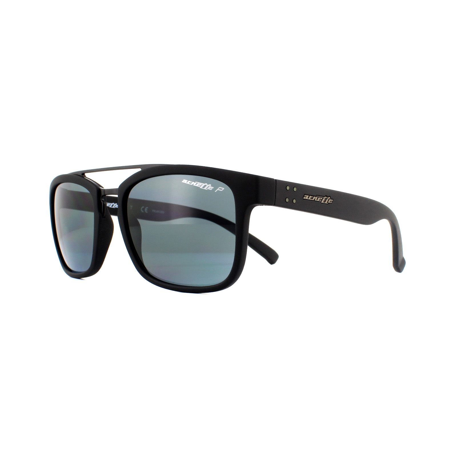 89a690e8e2434 Sentinel Arnette Sunglasses Baller 4248 254181 Black Polarized Grey