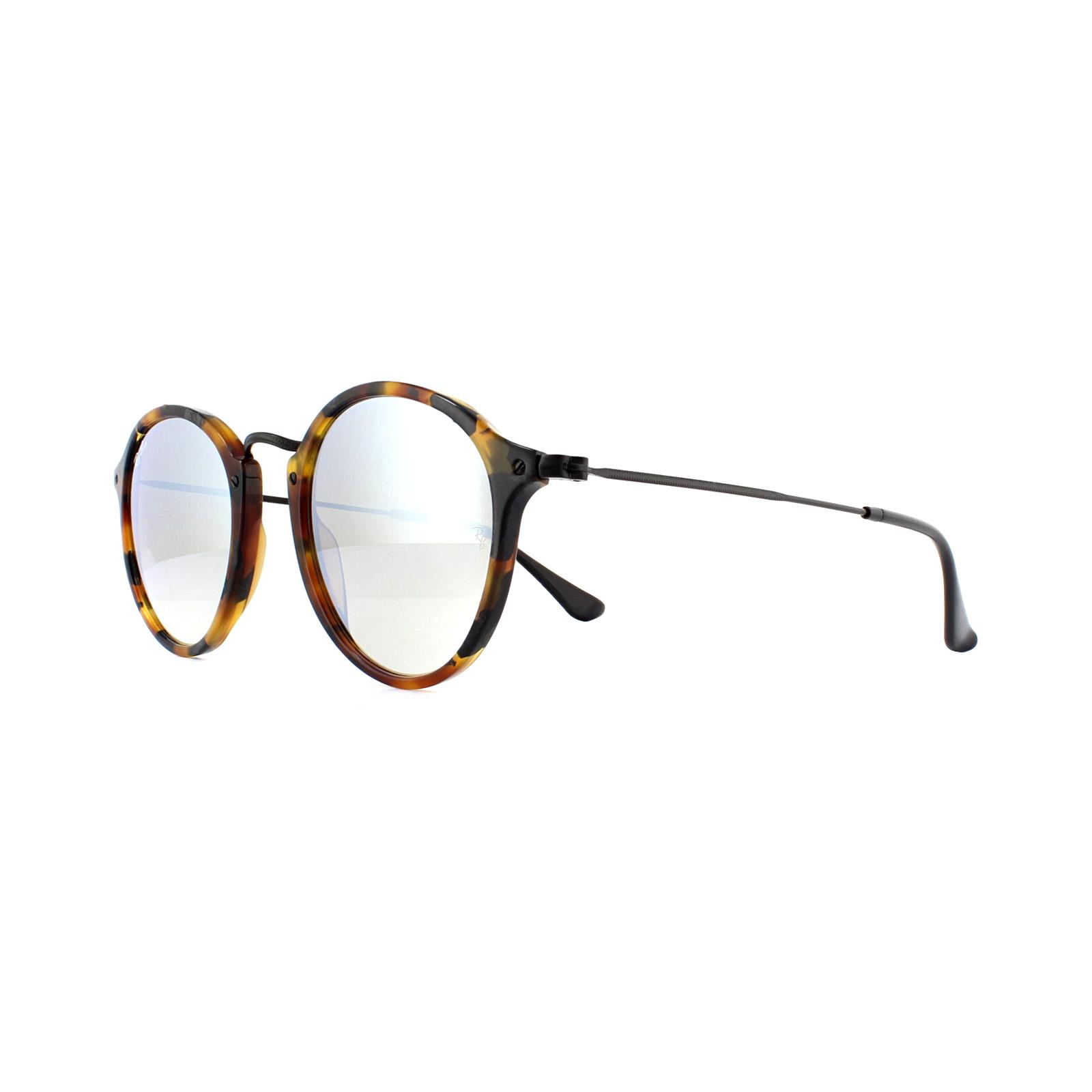 244e684aab CENTINELA Gafas de sol Ray Ban redondas Fleck 2447 11579U la Habana  graduado gris espejo 49mm