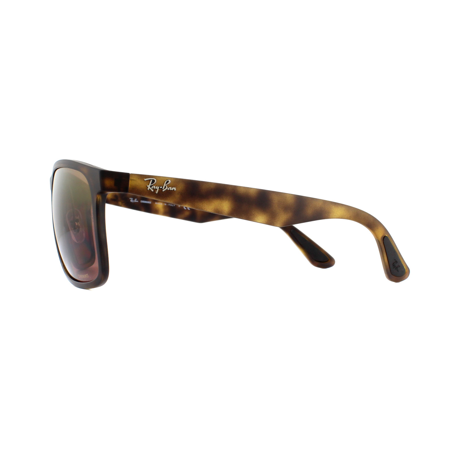9af66bf8886919 Sentinel Ray-Ban Sunglasses RB4264 894 6B Matte Havana Brown Polarized  Mirror Chromance