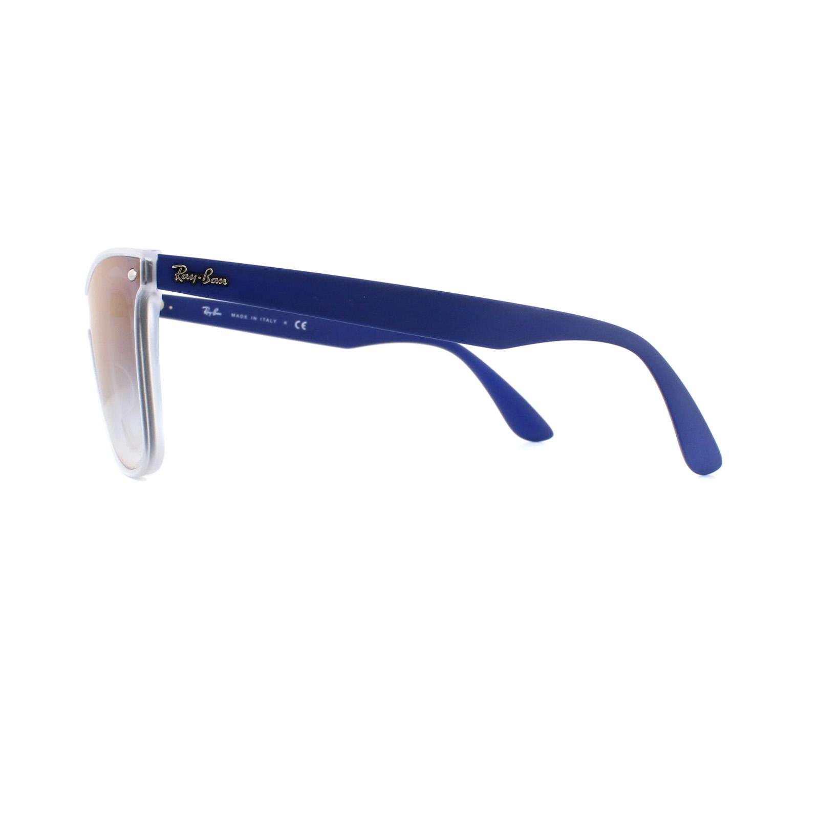 80dbde6c7cc48 Sentinel Ray-Ban Sunglasses Blaze Wayfarer 4440N 6356X0 Transparent Blue