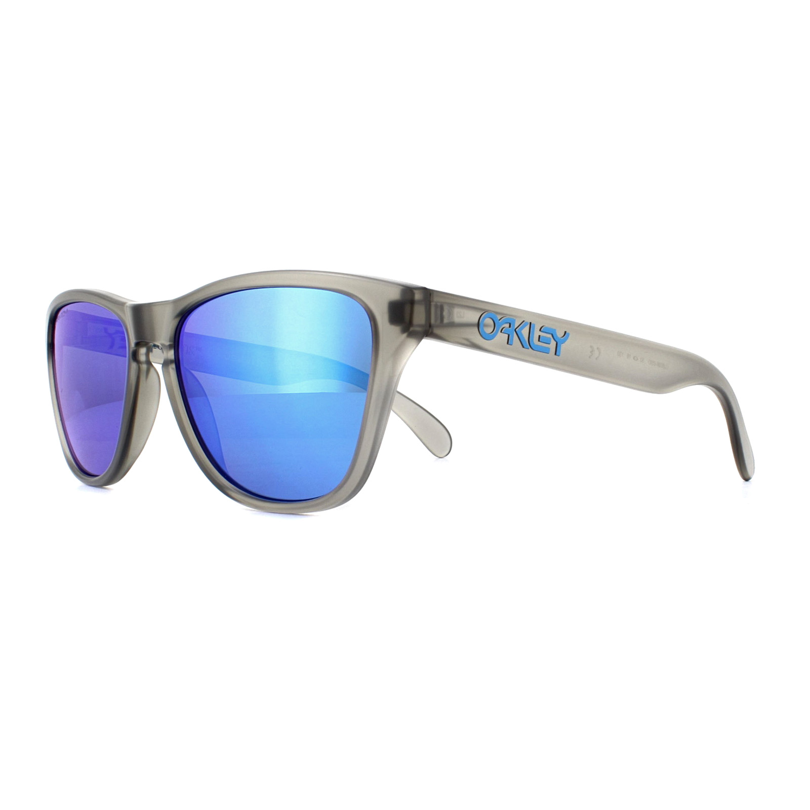 577bd1abab0 Sentinel Oakley Sunglasses Frogskins XS OJ9006-05 Matte Grey Ink Prizm  Sapphire Youth Fit