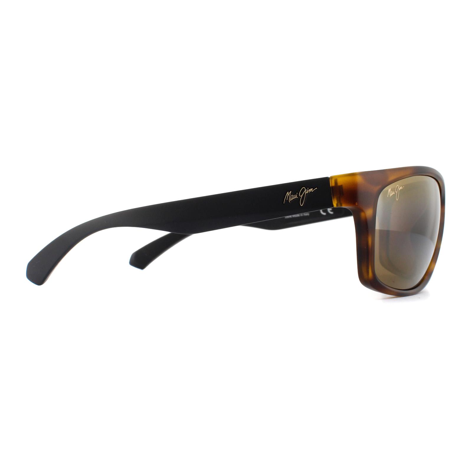 2dbc854aec99e Sentinel Maui Jim Sunglasses Tumbleland H770-10CM Matte Tortoise Black  Bronze Polarized