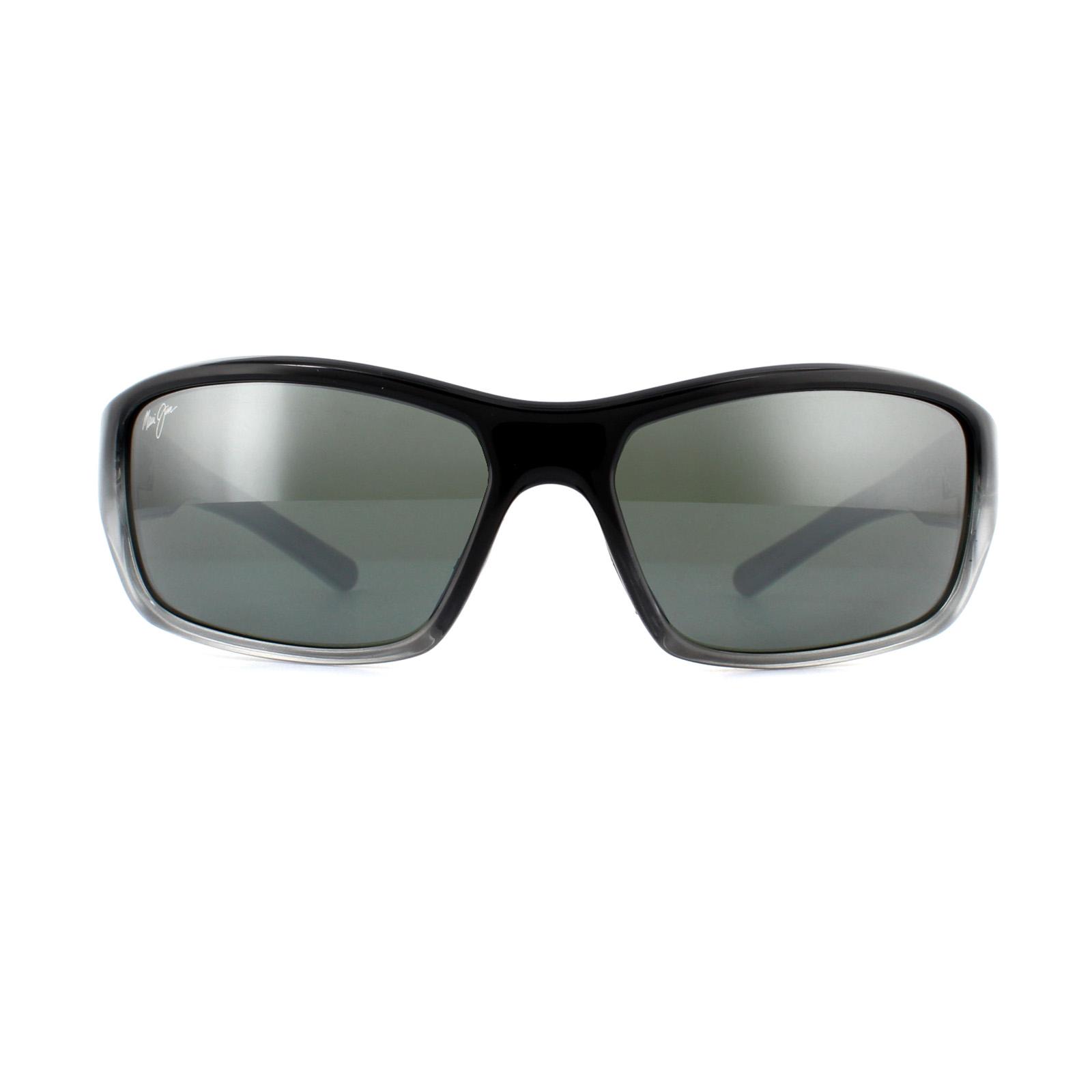 04553a5444 CENTINELA Arrecife de barrera de gafas de sol Maui Jim C 792-14 Gris  Neutral plata