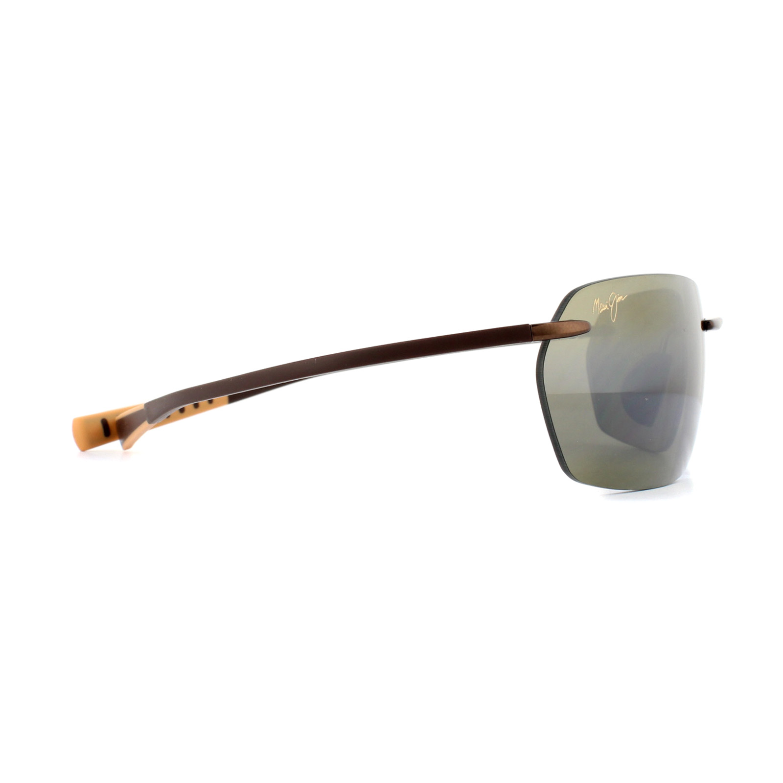 7fe6edfb25 Sentinel Maui Jim Sunglasses Alakai H743-23 Metallic Gloss Copper HCL  Bronze Polarized