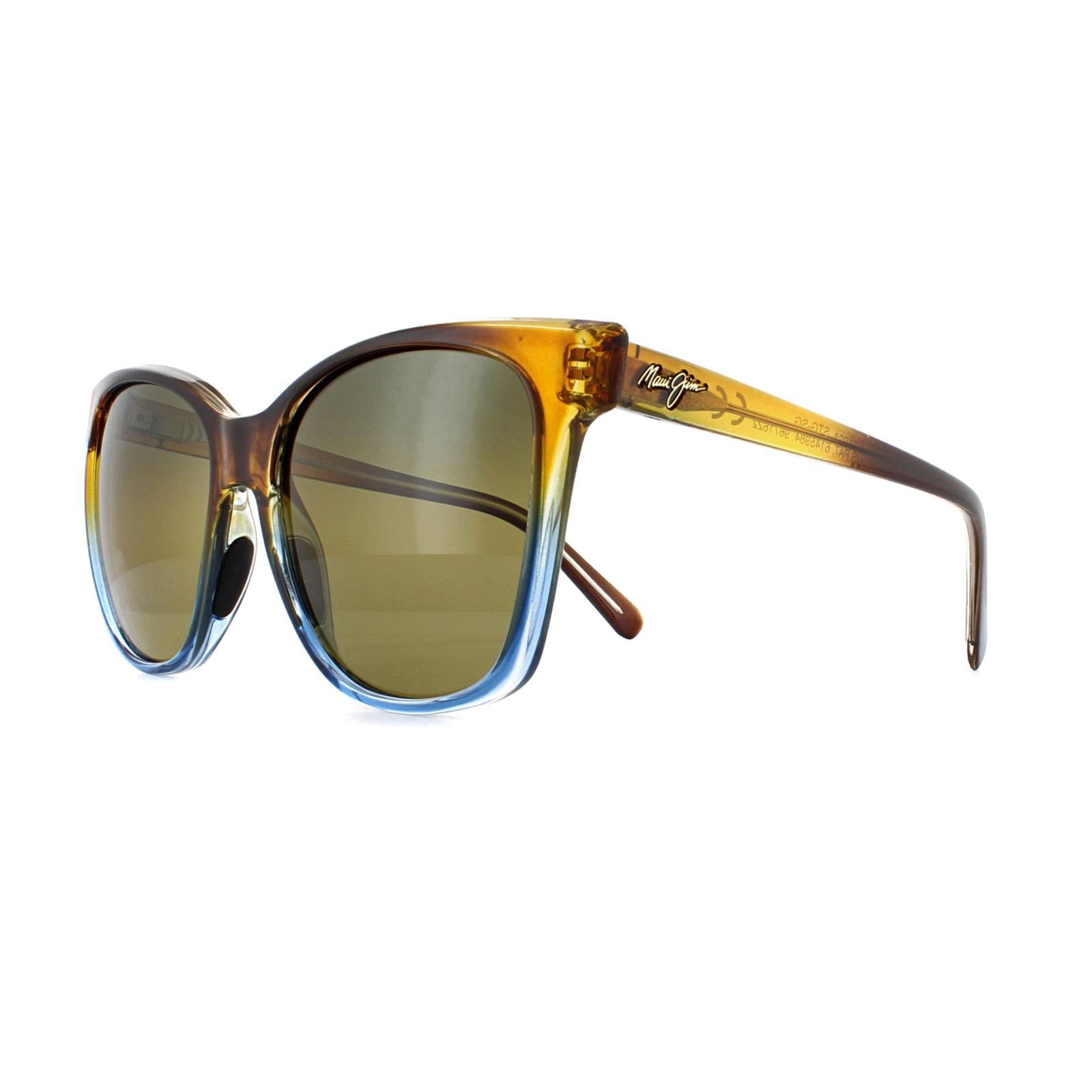 aadb6eba7f Sentinel Maui Jim Sunglasses Alekona HS793-18B Caramel with Blue HCL Bronze  Polarized