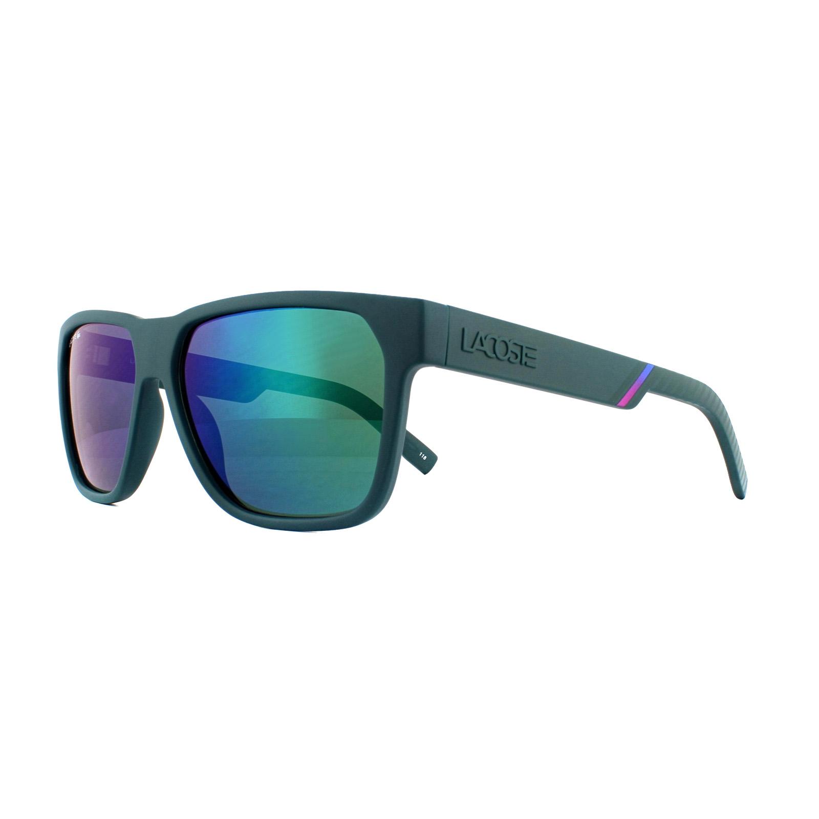 ada7ad3eb18 Lacoste Sunglasses L867S 315 Matte Green Green Mirror 886895333610 ...