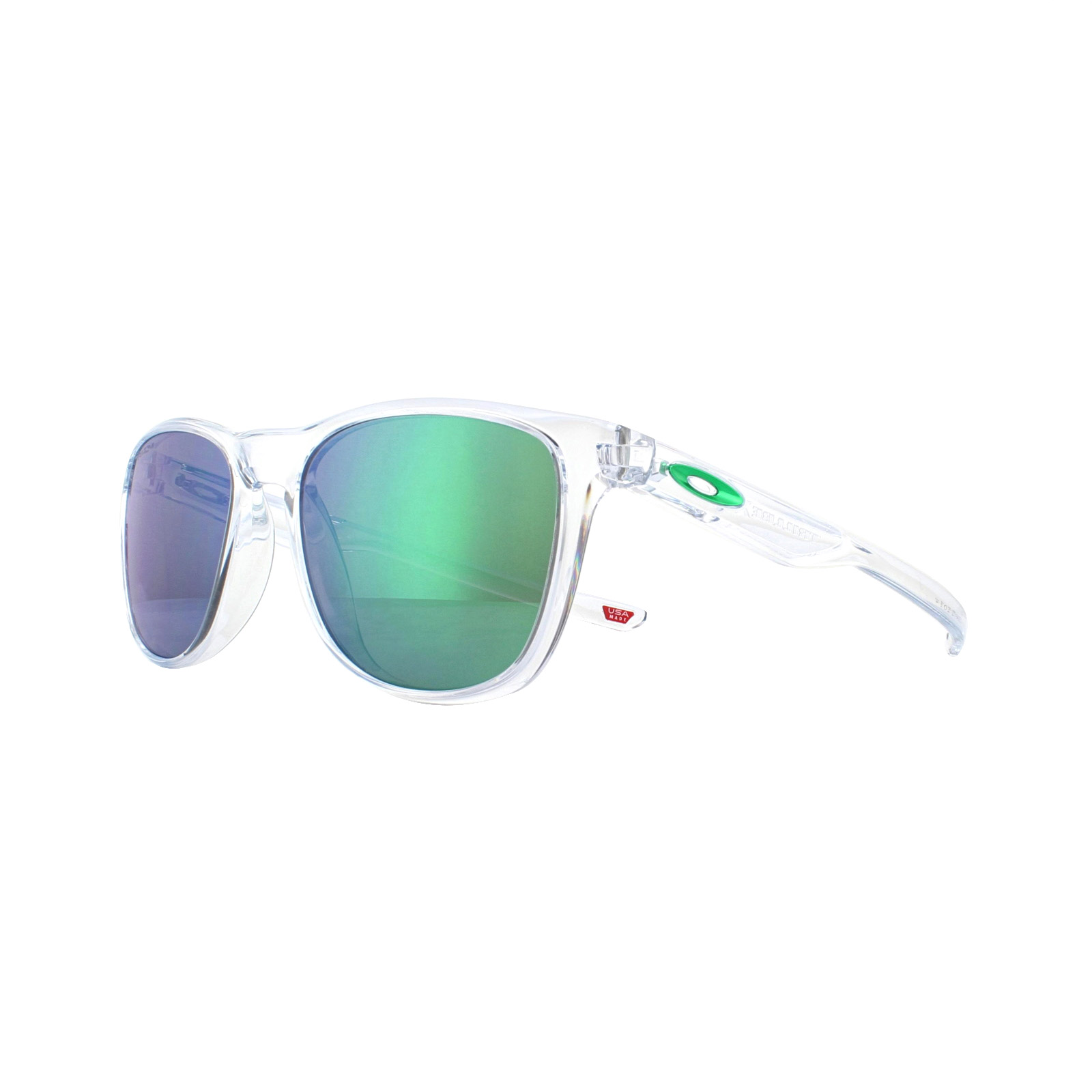 55441448f67 Sentinel Oakley Sunglasses Trillbe X OO9340-17 Polished Clear Prizm Jade