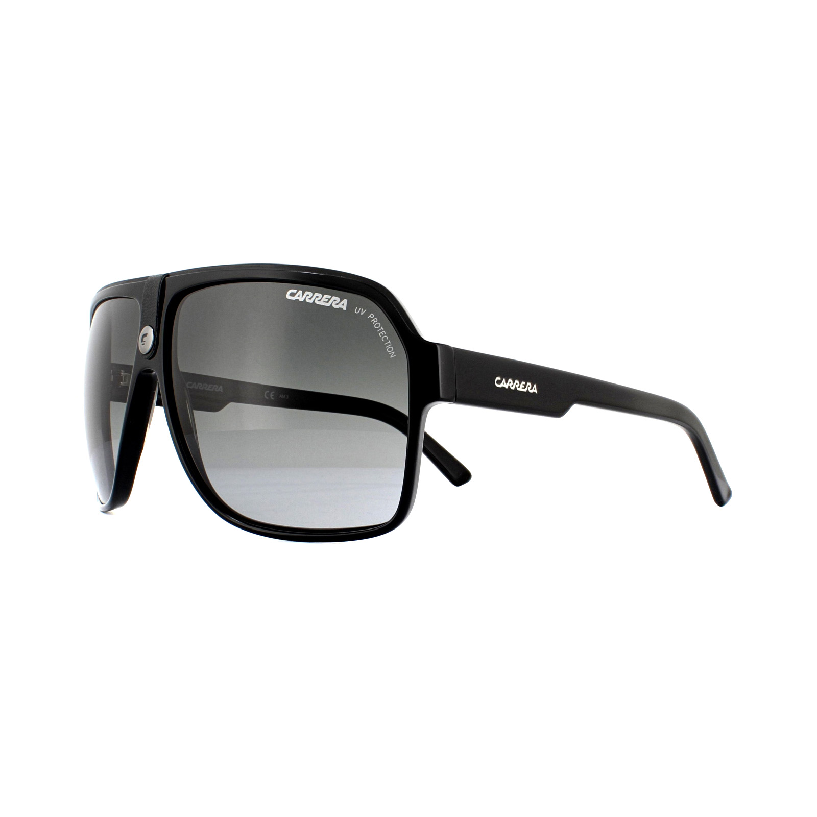 90b49e9a0fc0 Sentinel Carrera Sunglasses Carrera 33 807 PT Black Grey Gradient
