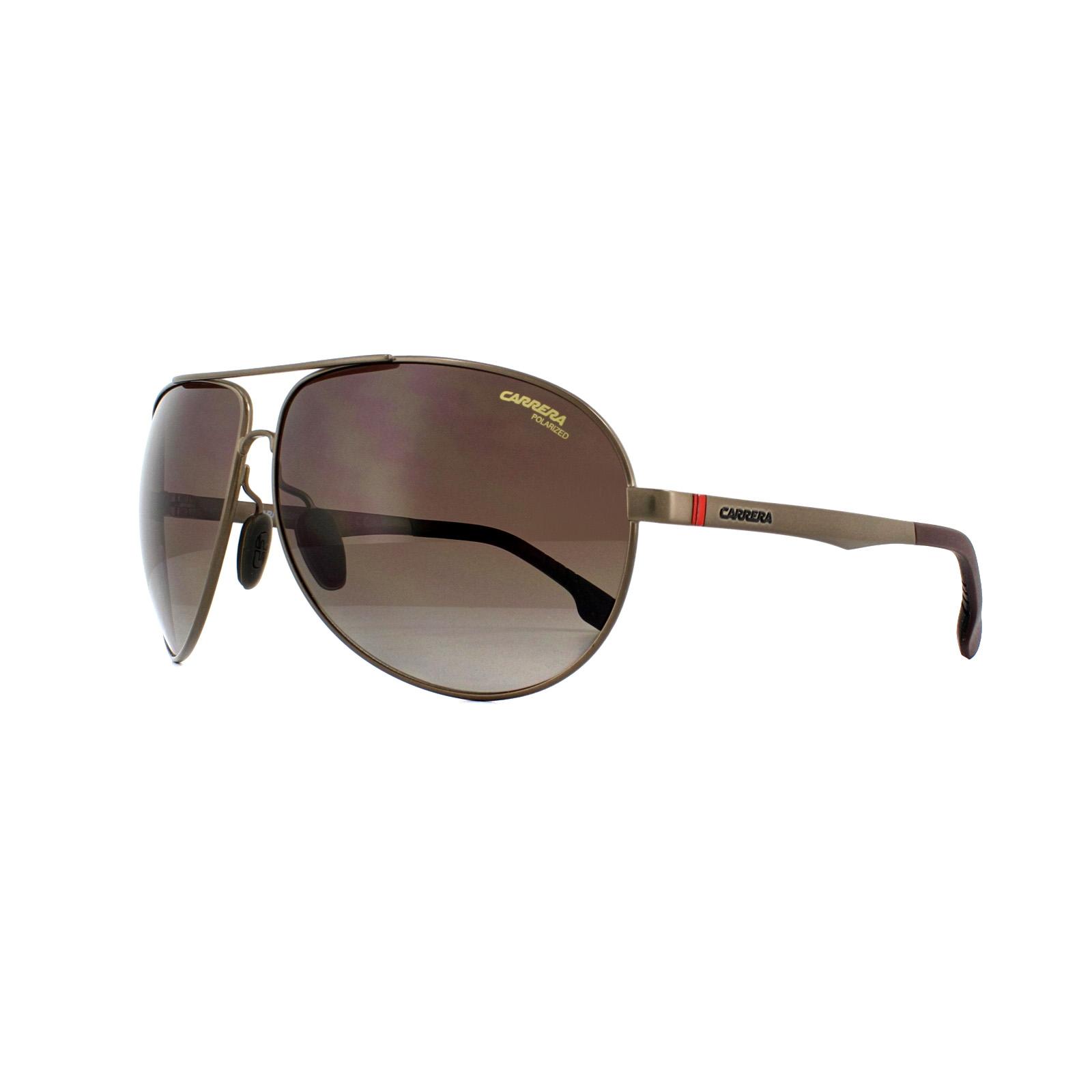 Sentinel Carrera Sunglasses Carrera 8023 4IN LA Matt Brown Brown Gradient  Polarized fc09597e217
