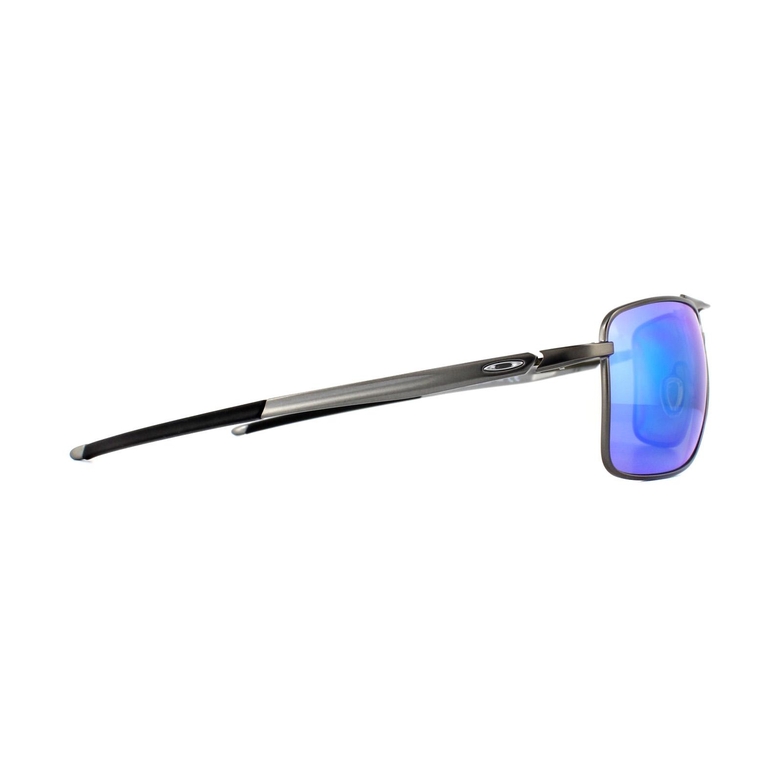 2e52854f3c Sentinel Oakley Sunglasses Gauge 8 L OO4124-06 Grey Prizm Sapphire Polarized
