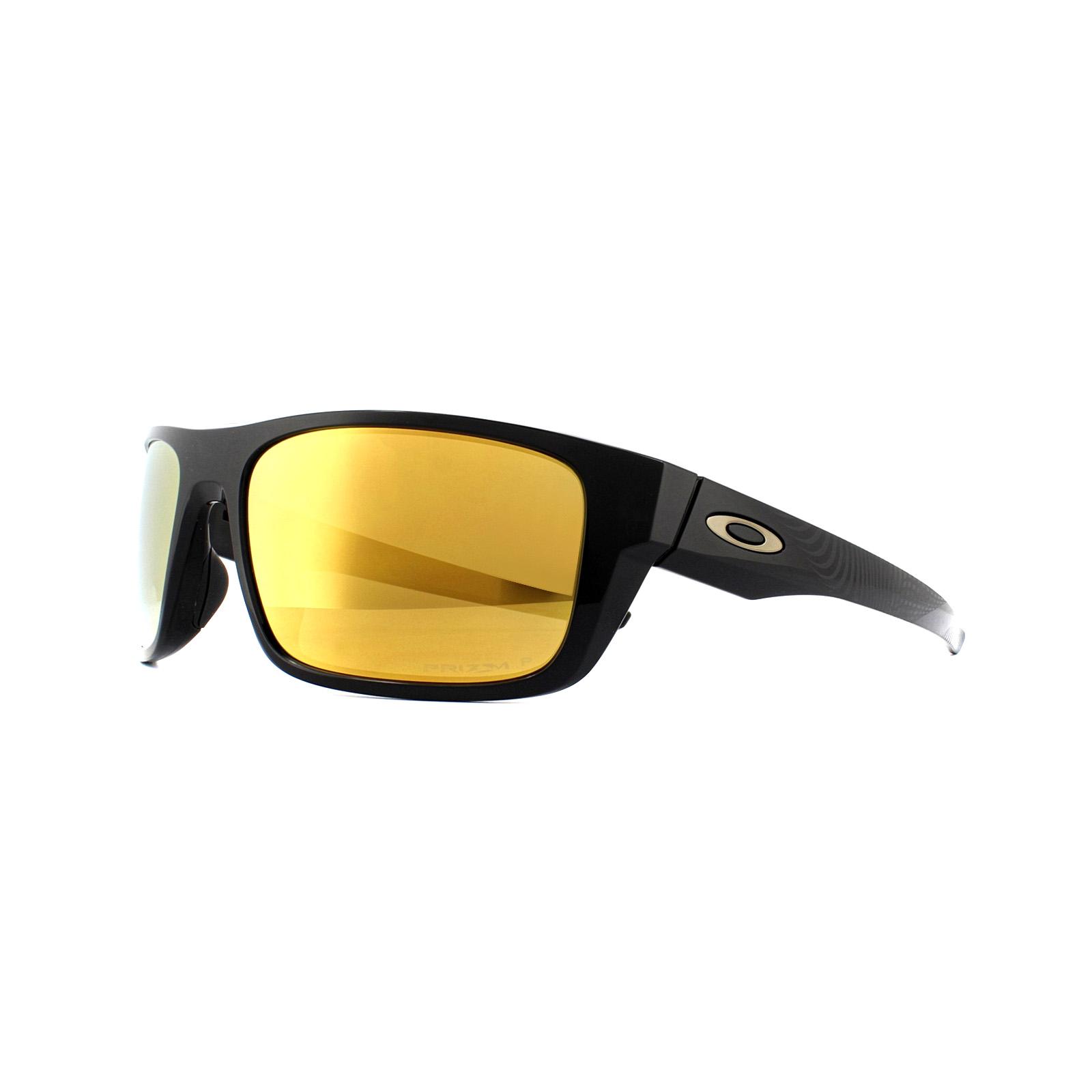 c02b842e0a4 Sentinel Oakley Sunglasses Drop Point OO9367-21 Polished Black Prizm 24k  Polarized