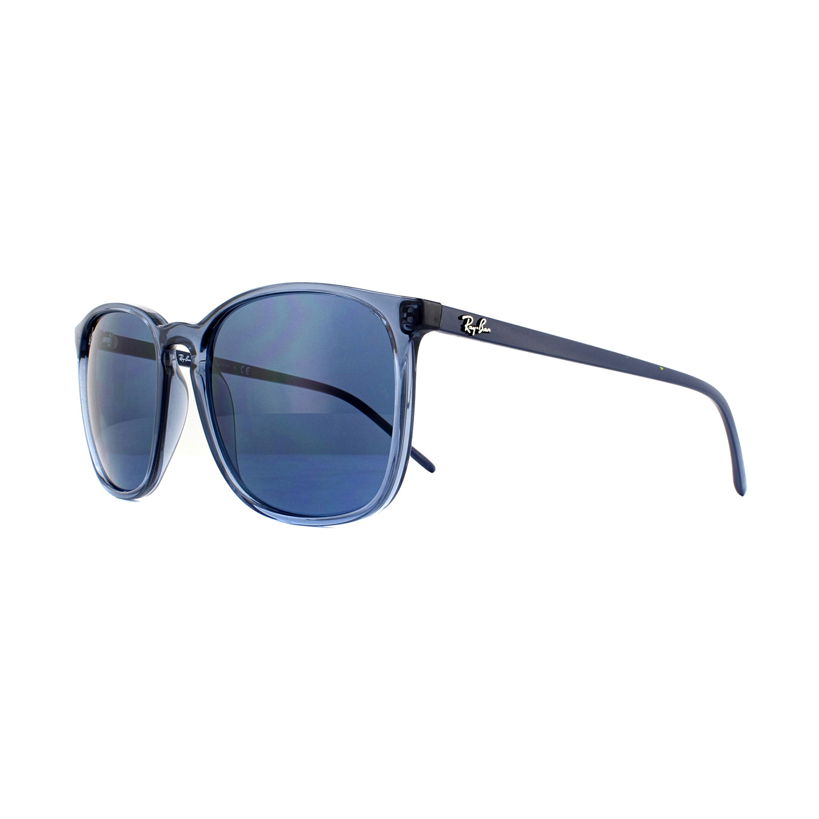 91f8087c639f Sentinel Ray-Ban Sunglasses RB4387 639980 Transparrent Blue Blue Gradient