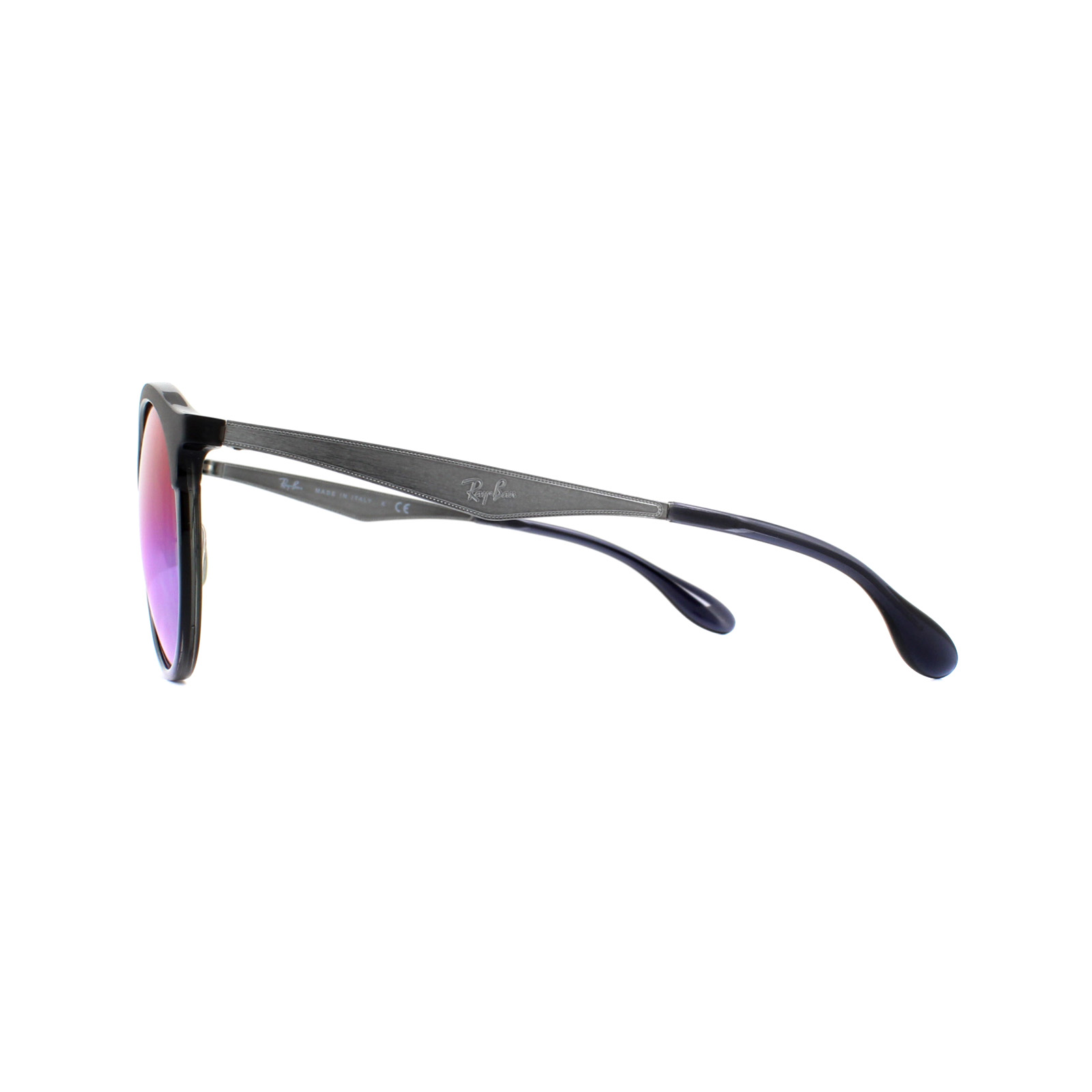 b167750f50 Sentinel Ray-Ban Sunglasses Emma RB4277 6324B1 Grey Gunmetal Blue Violet Gradient  Mirror