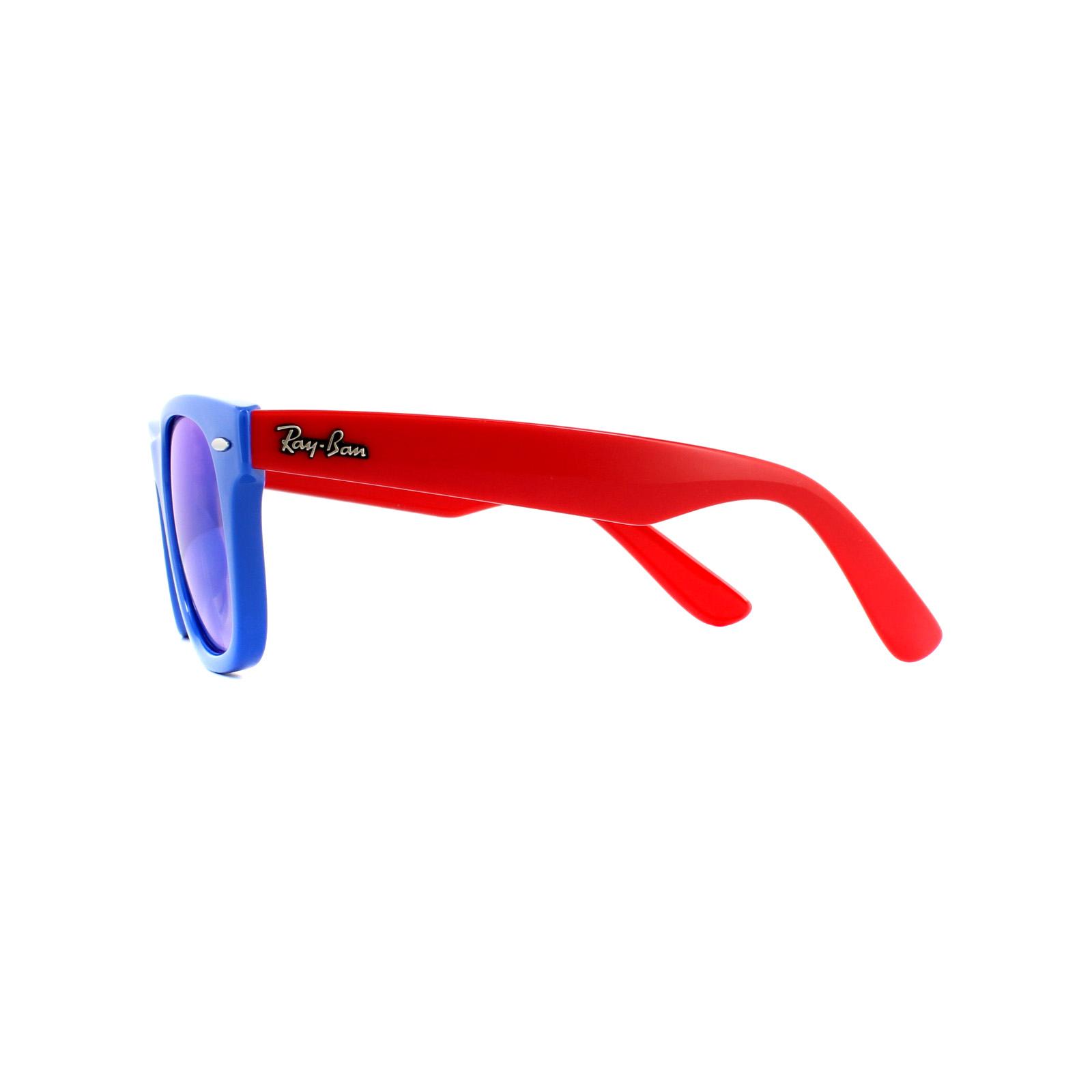 Ray Ban Junior Gafas de sol Wayfarer RJ9066 7039B7 Espejo