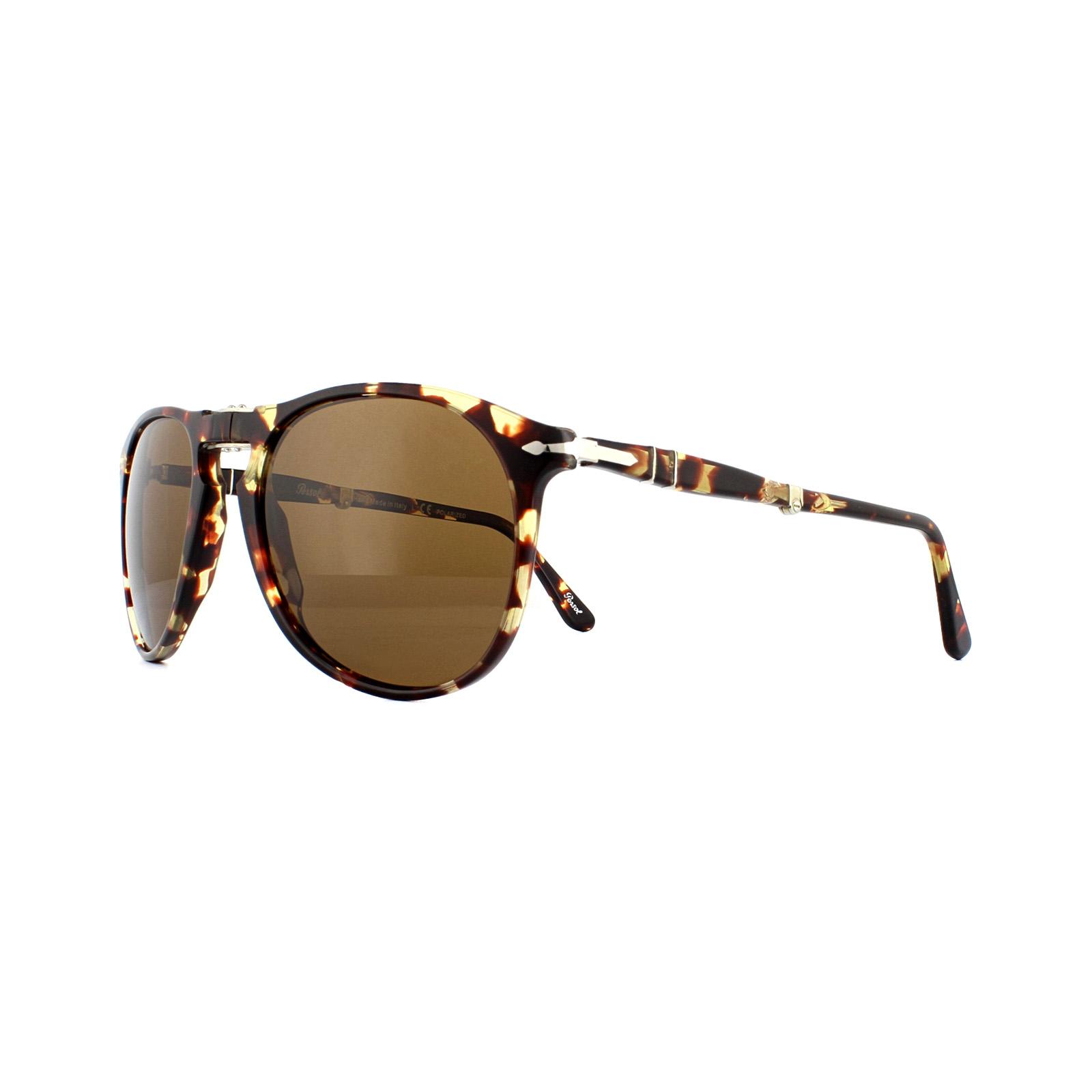 ac0d4499d Persol Sunglasses 9714S 985/57 Tabacco Virginia Tortoise Brown ...