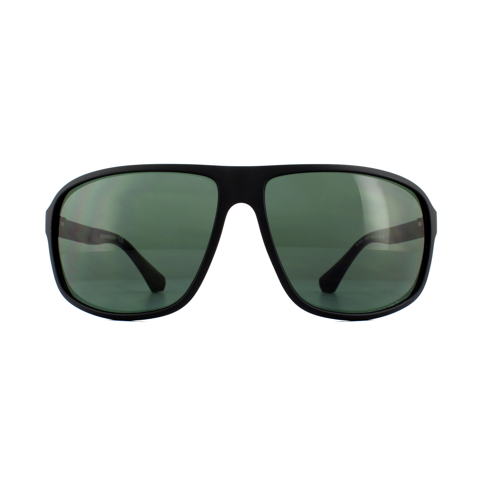 982fb8ca Details about Emporio Armani Sunglasses 4029 504271 Matte Black Green