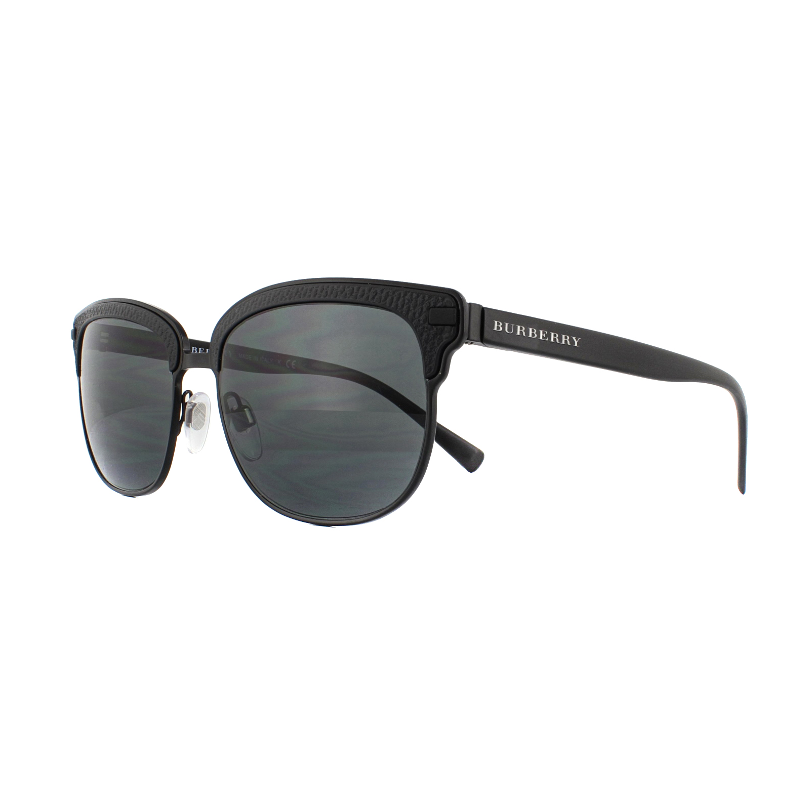 f9bb1ac883ac Sentinel Burberry Sunglasses BE4232 346487 Black Rubber Matte Black Grey
