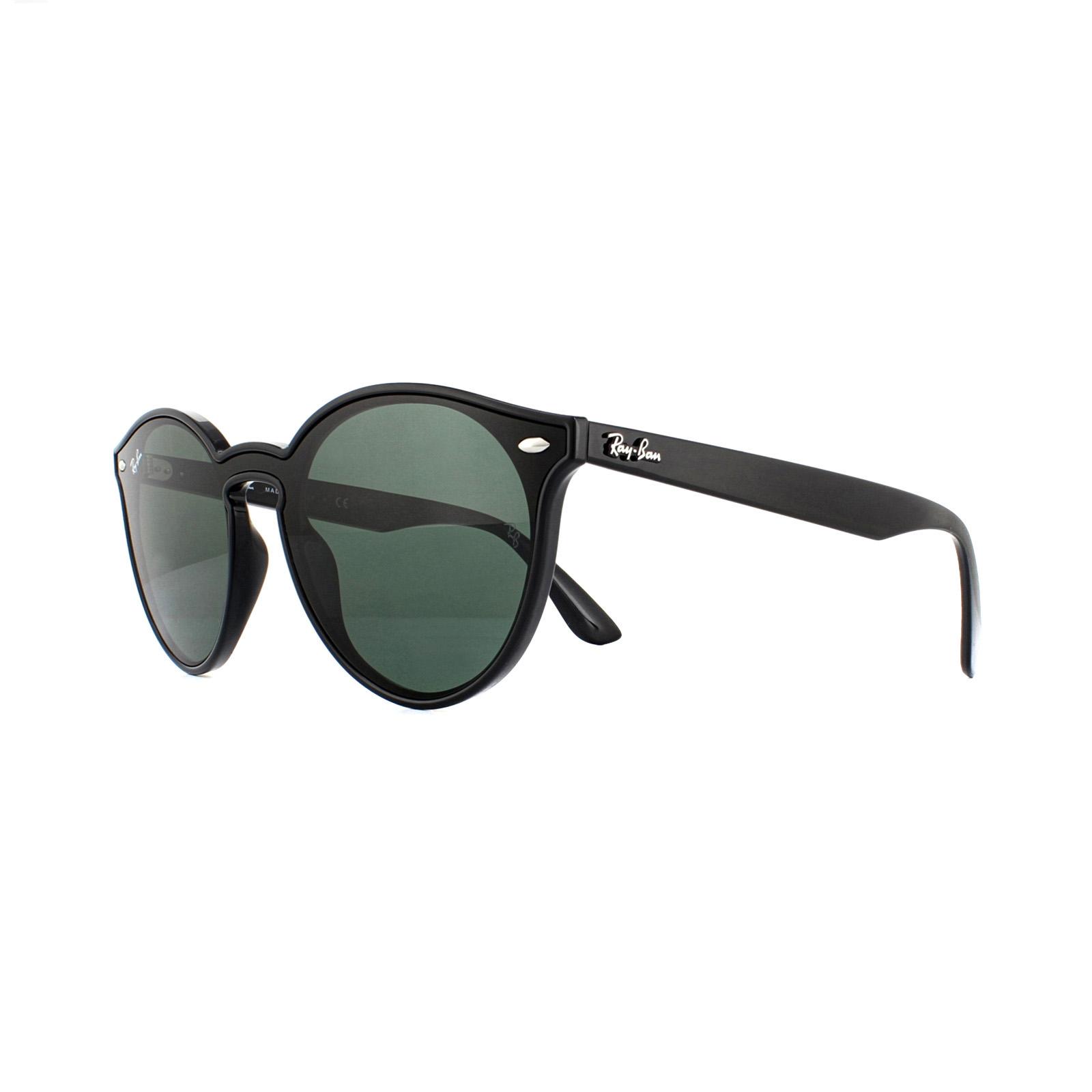 ac965e42fa Ray-Ban Sunglasses RB4380N 601 71 Black Green 8053672918991