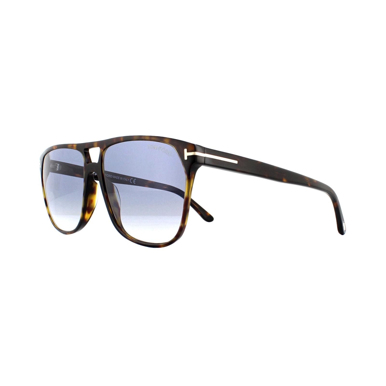 0a787297e209d Sentinel Tom Ford Sunglasses Shelton 0679 52W Dark Havana Blue Gradient