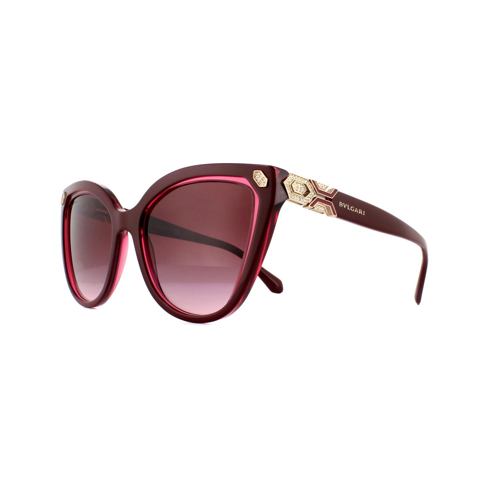 BVLGARI Sonnenbrille//Sunglasses  8136-B 5318//14  57 15 17  140 2N    //219