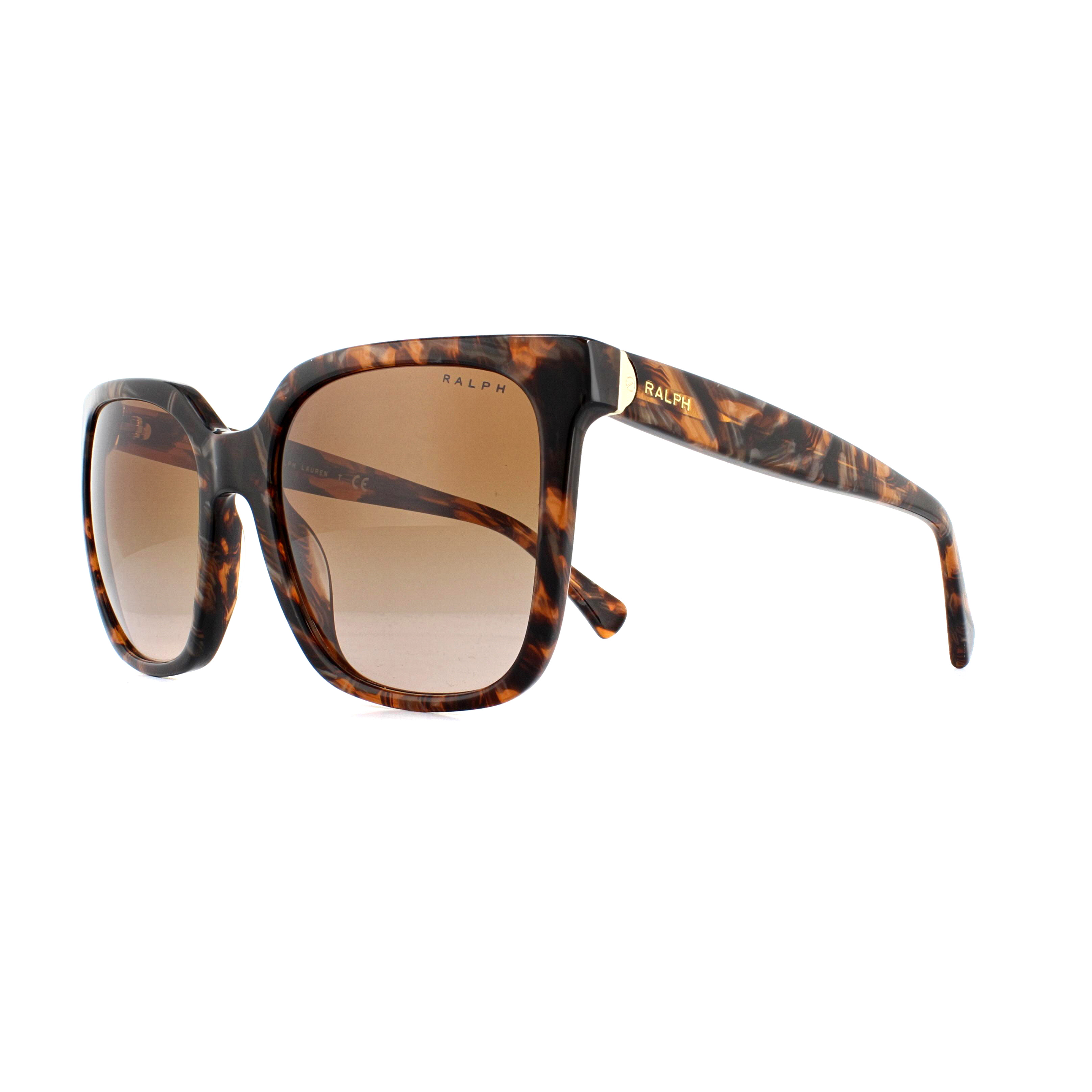 c1569e183b8e Details about Ralph by Ralph Lauren Sunglasses RA5251 573813 Tortoise Brown  Orange Gradient