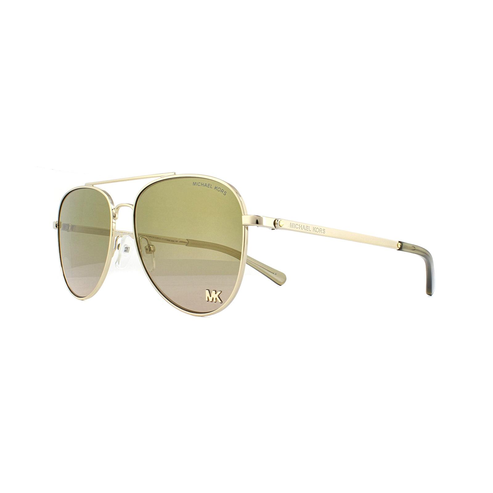 Michael Kors San Diego Sonnenbrille Rose Gold Damen