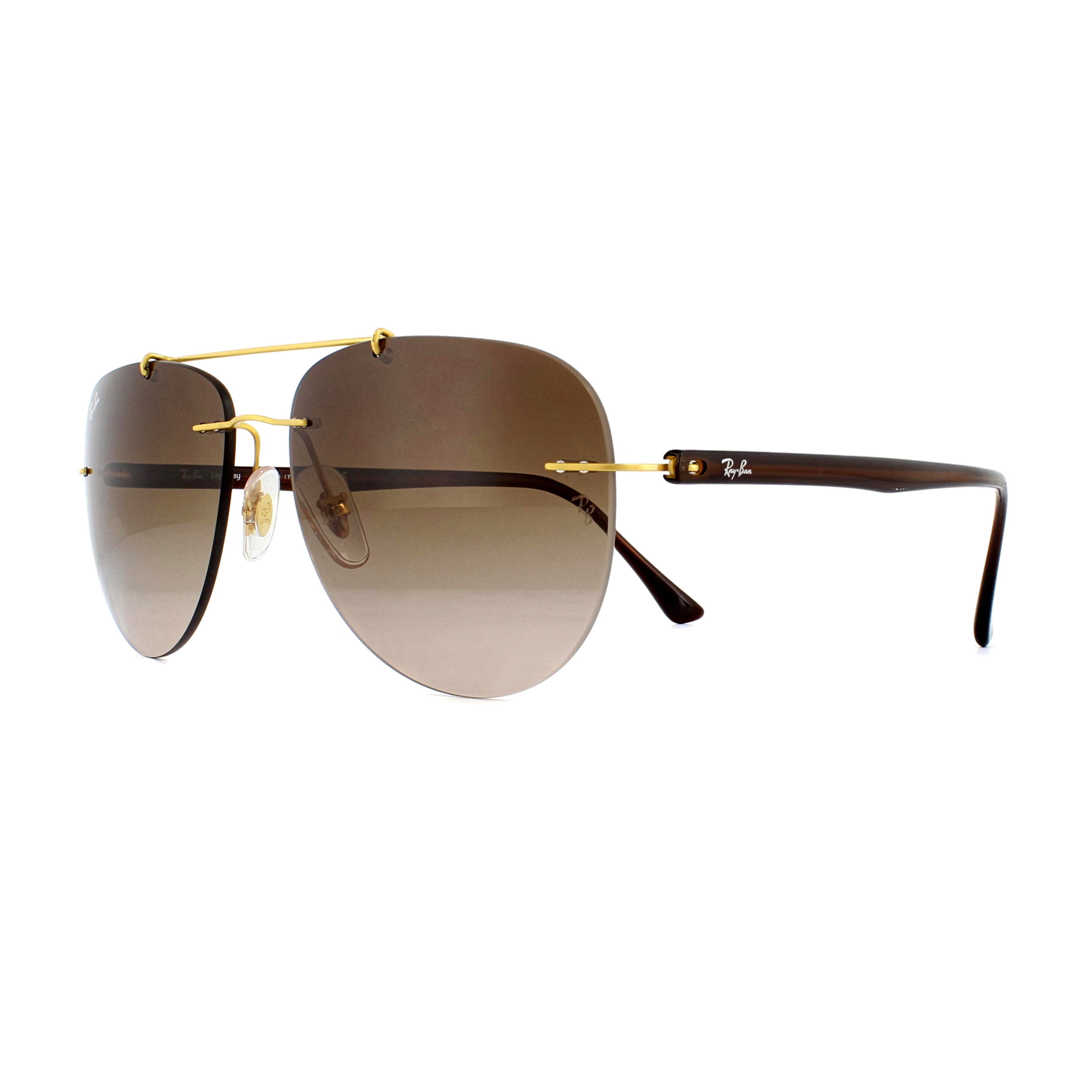 9c4820fc11af Sentinel Ray-Ban Sunglasses 8059 157 13 Gold Brown Brown Gradient