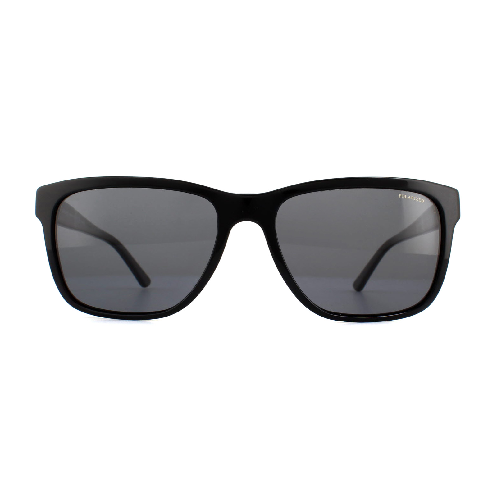 9e1308a6cfd4d Versace Sunglasses VE4249 GB1 81 Black Grey Polarized 8053672137217 ...