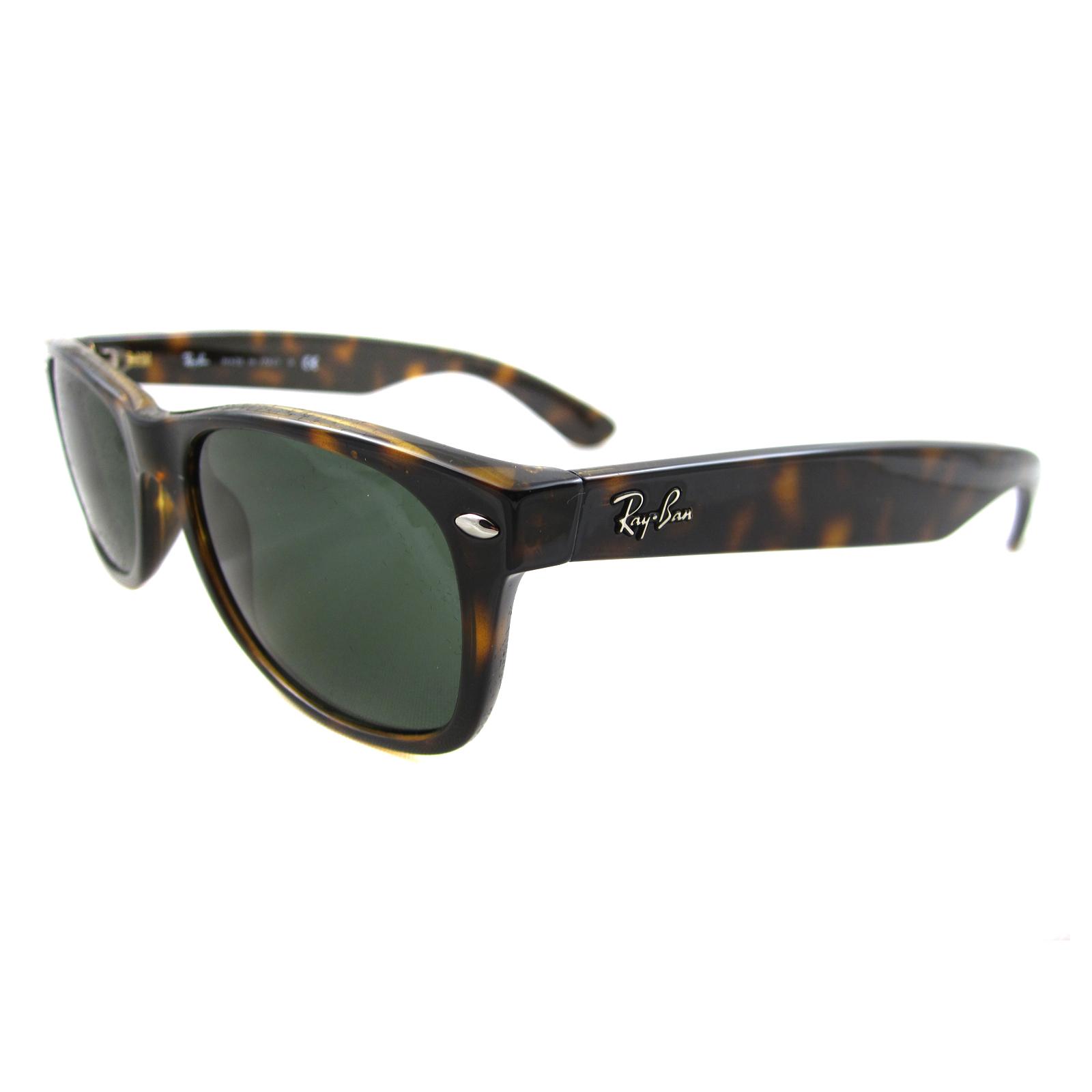 f3e3cf12fd Sentinel Ray-Ban Sunglasses New Wayfarer 2132 902 Tortoise Green Small