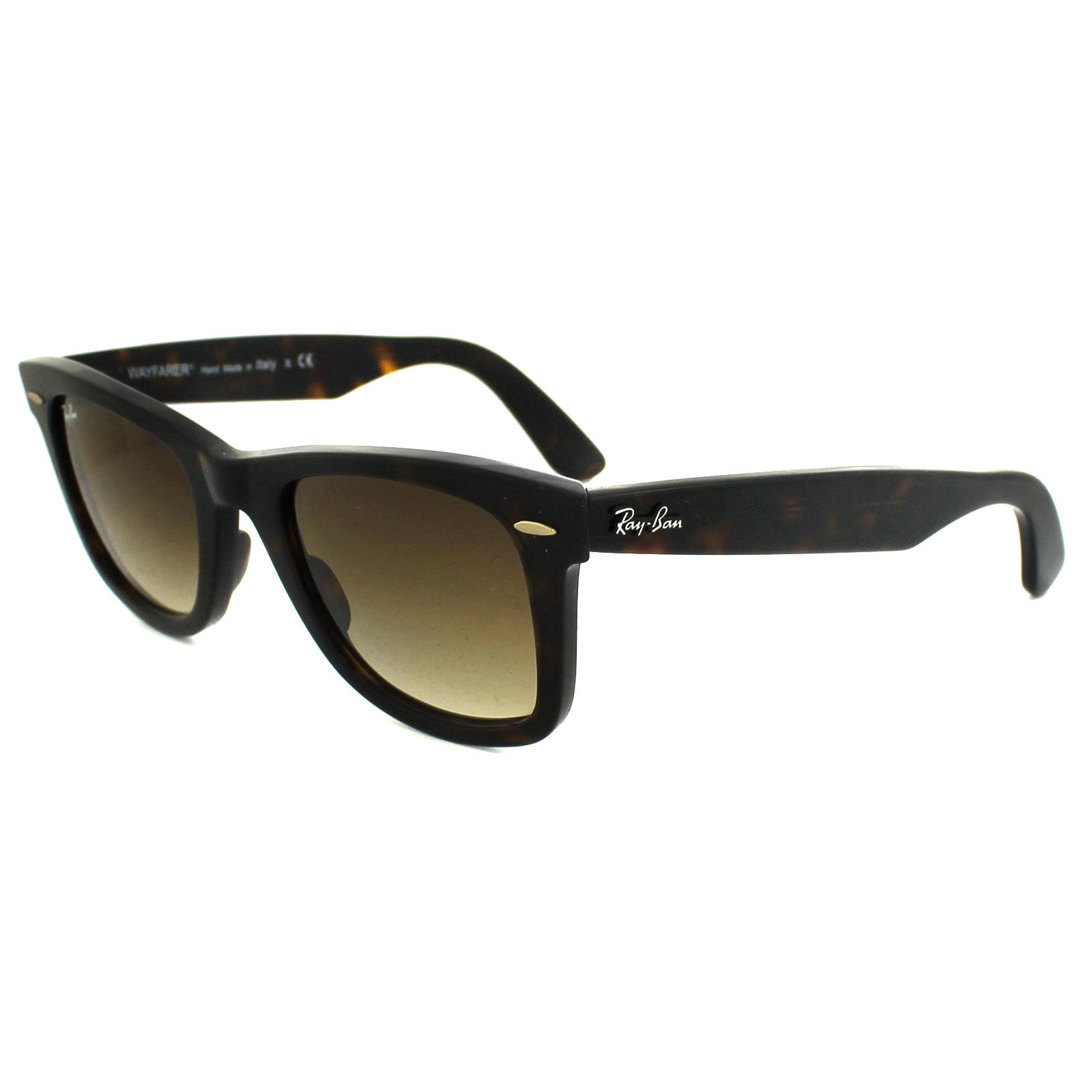 5af75c28069f1 Sentinel Ray-Ban Sunglasses Wayfarer 2140 902 51 Havana Brown Gradient  Medium 50mm