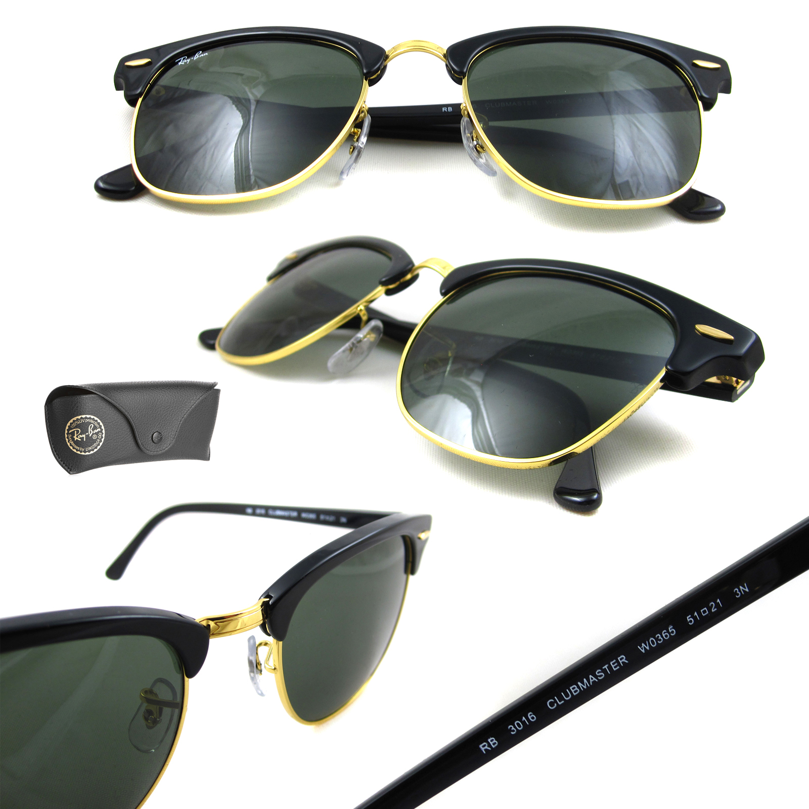 853ef3a9e3 ... shopping sentinel rayban sunglasses clubmaster 3016 w0365 black 49mm  78f67 6891a