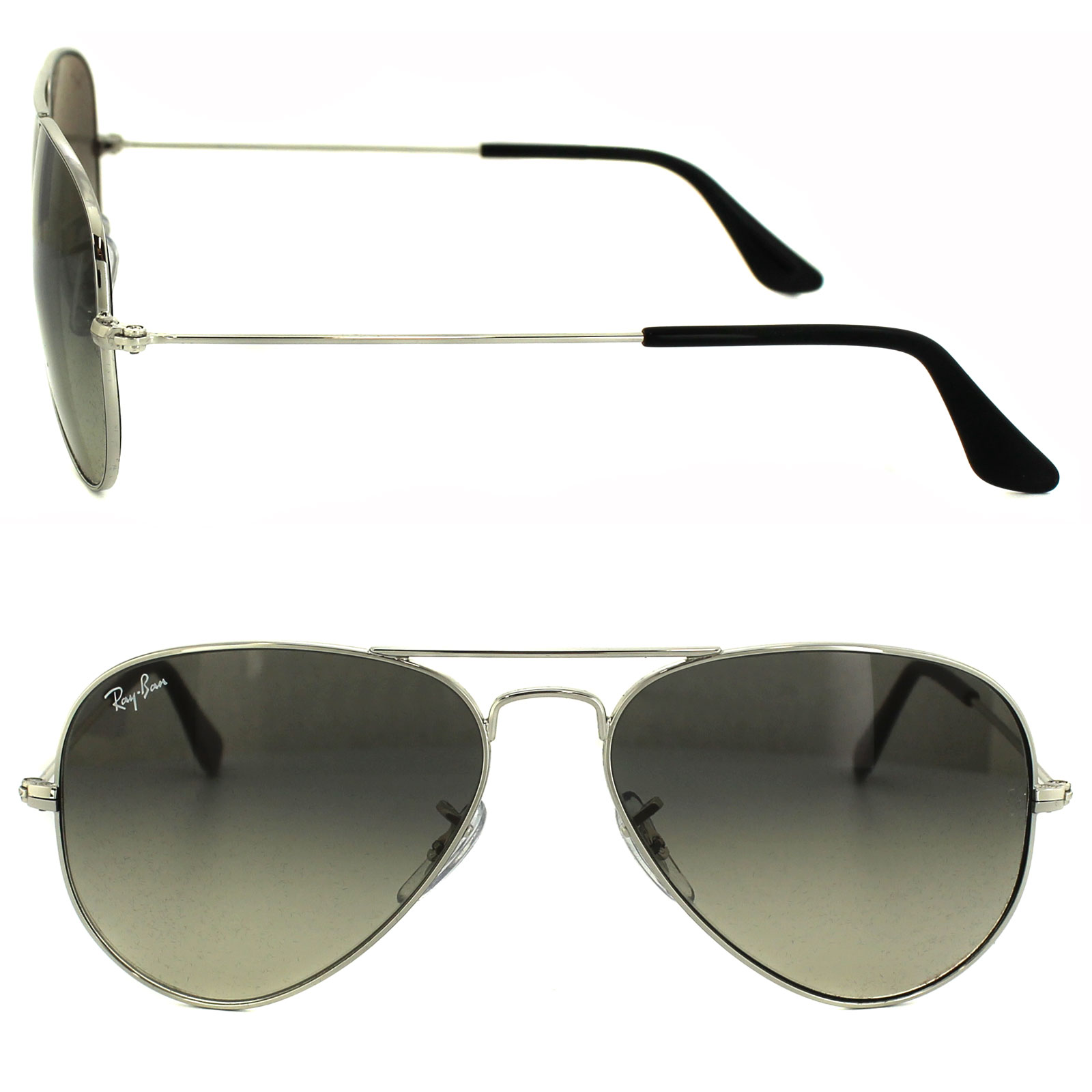 ray ban sonnenbrille aviator silber