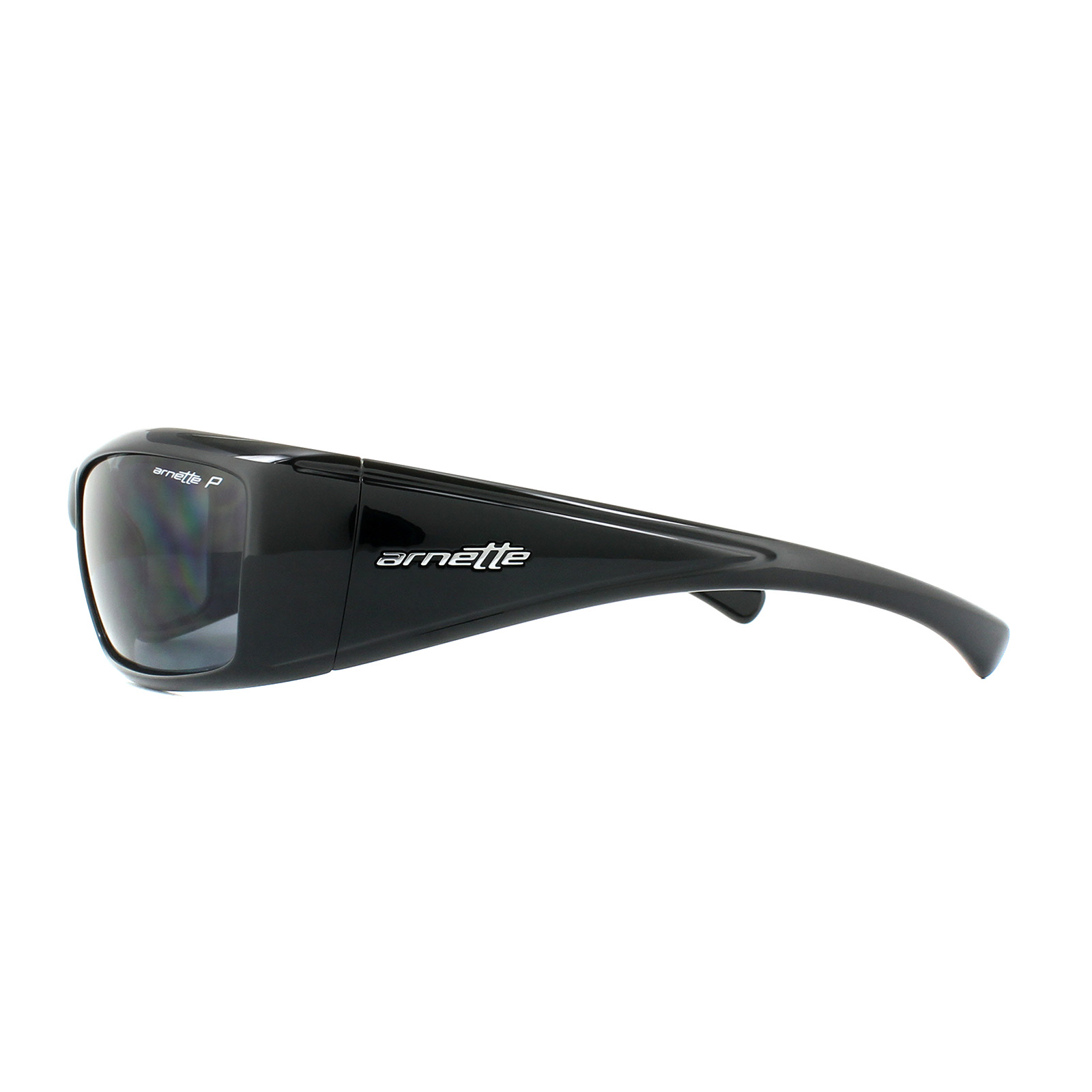 54f6634e08d2 Arnette Sunglasses Rage XL 4077 41/81 Black Polarized 726770316508 ...