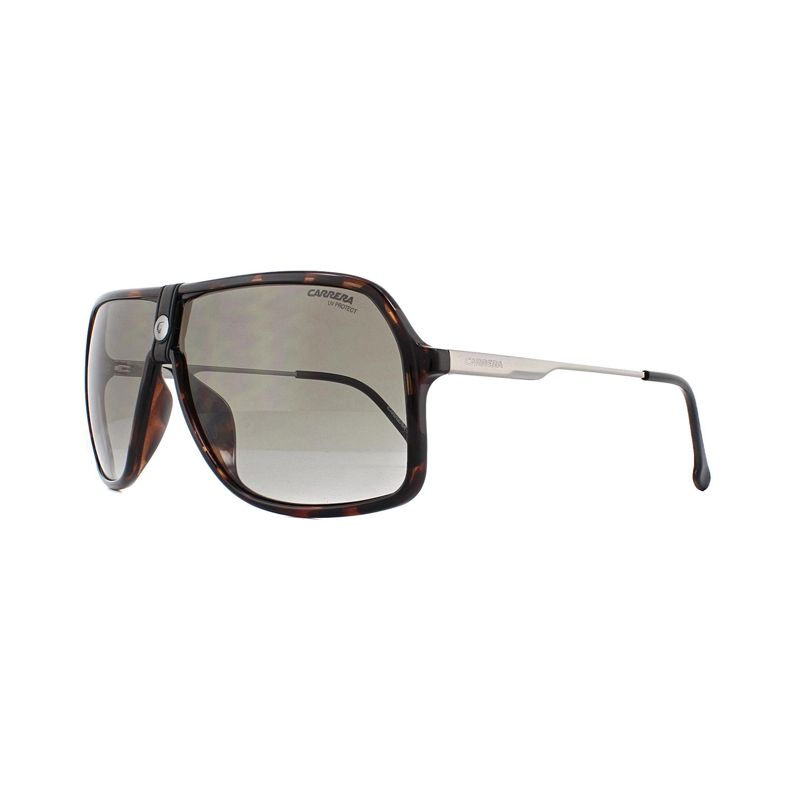 52d42c753015 Sentinel Carrera Sunglasses 1019/S 086 HA Dark Havana Brown Gradient