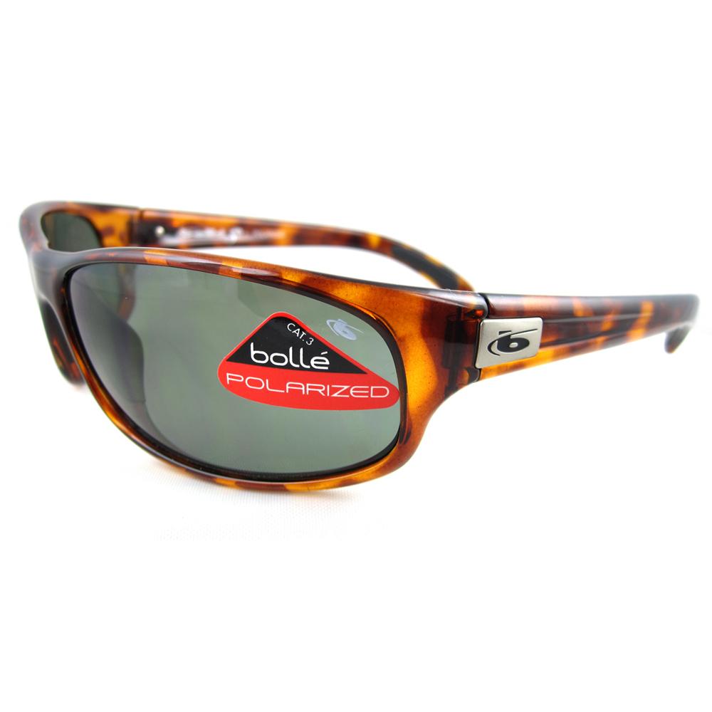6f1ad0f1e3 Sentinel Bolle Sunglasses Anaconda 10335 Tortoise Axis Grey Green Polarized