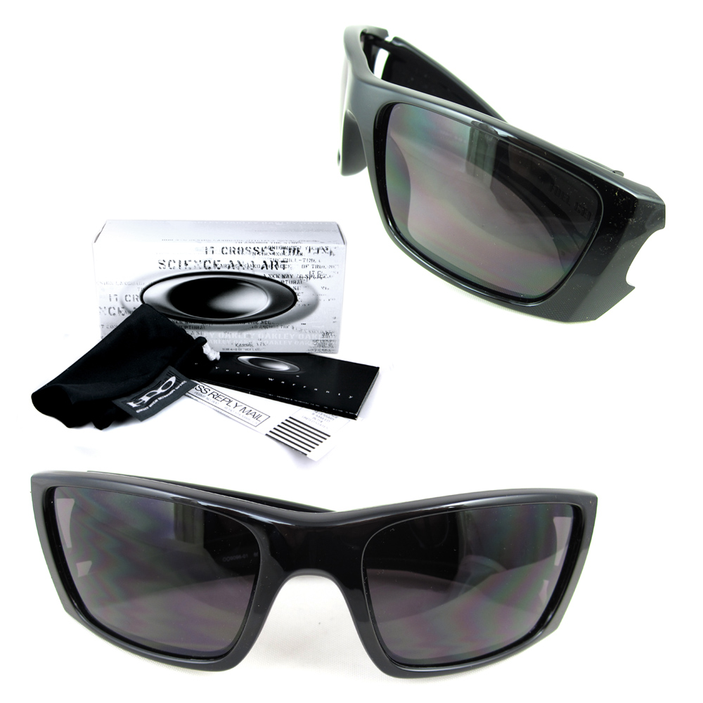 3f26350835b Sentinel Oakley Sunglasses Fuel Cell Polished black Warm Grey OO9096-01.  Sentinel Thumbnail 2