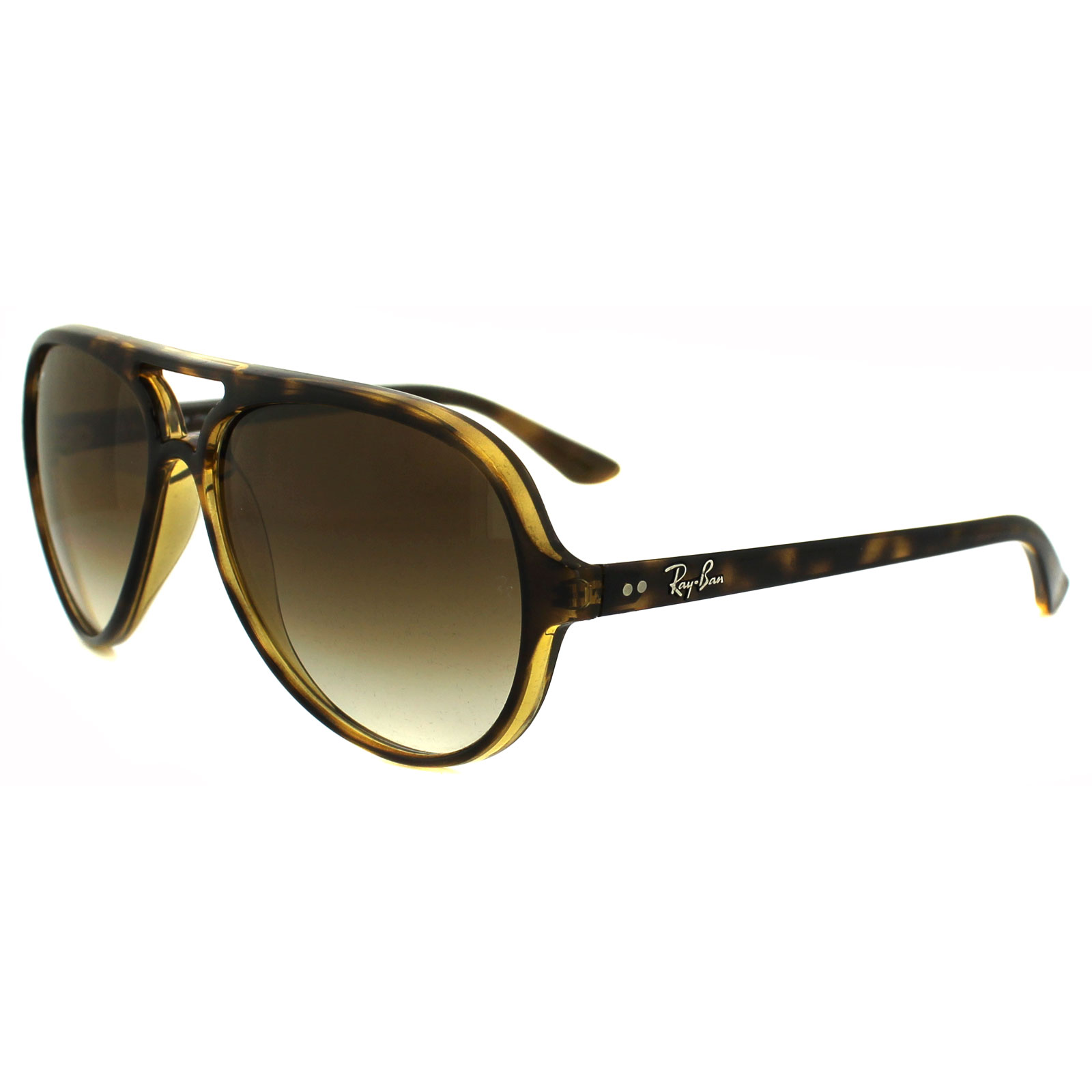 73f9ced3350fa4 Sentinel Ray-Ban Sunglasses Cats 5000 4125 710 51 Havana Brown