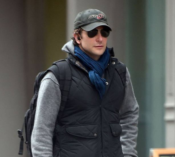 Bradley Cooper's sporting a new look