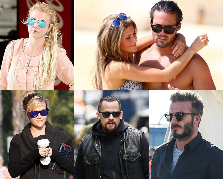 Celebs in Sunglasses Discounted