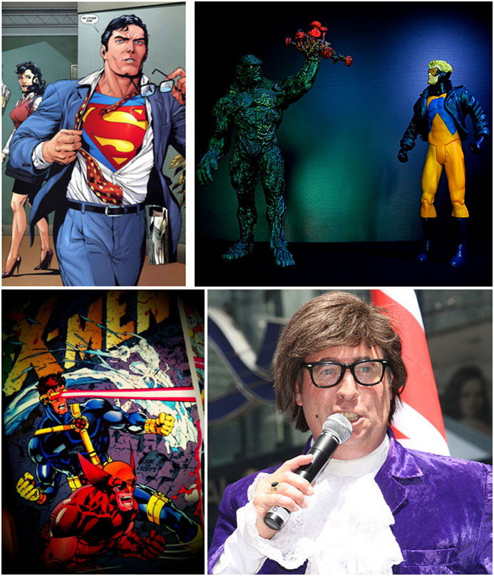 Superheroes with Super Glasses