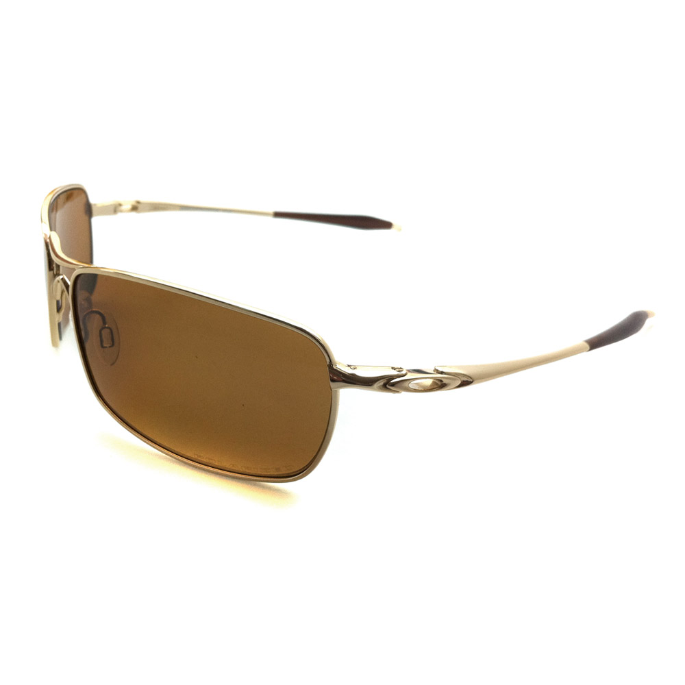 2371158b53 Sentinel Oakley Sunglasses Crosshair 2.0 Polished Gold Bronze Polarized  OO4044-02