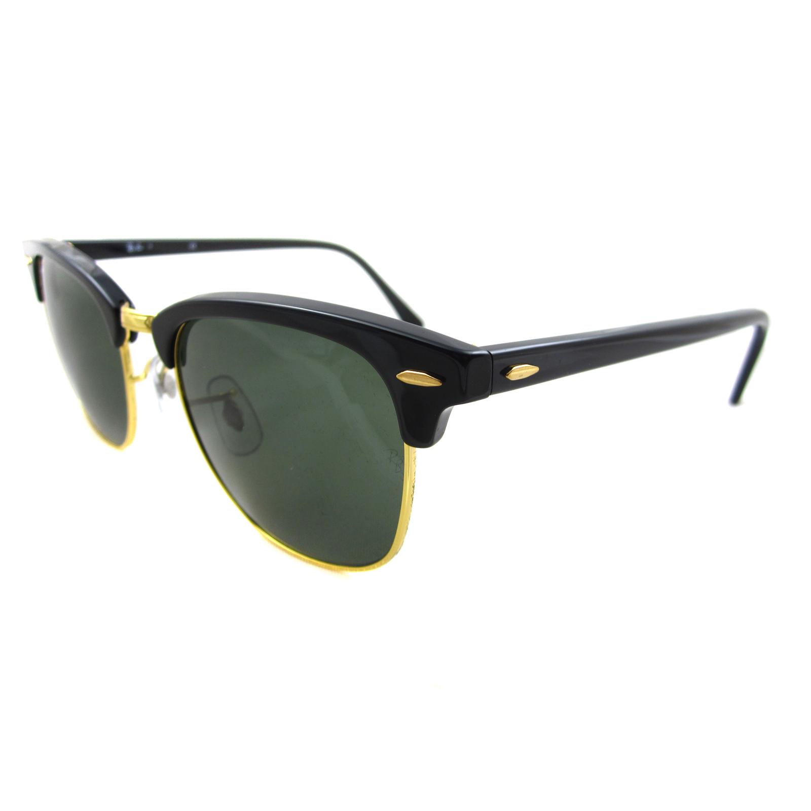 Ray-Ban RB3016 Sonnenbrille Schwarz W0365 51mm aujjtD