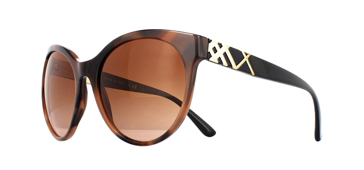 d4ae8f22a808 Sentinel Burberry BE4236 Sunglasses Spotted Brown 362313 Brown Gradient 56mm