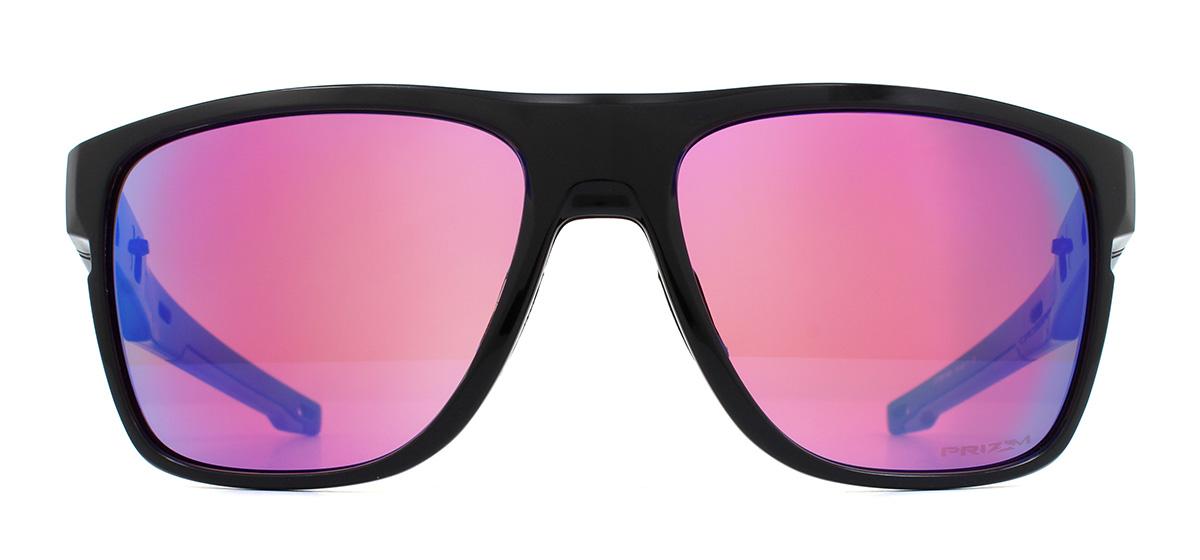 87f3fd0b05be3 Sentinel Oakley Crossrange XL Sunglasses Polished Black OO9360-04 Prizm Golf