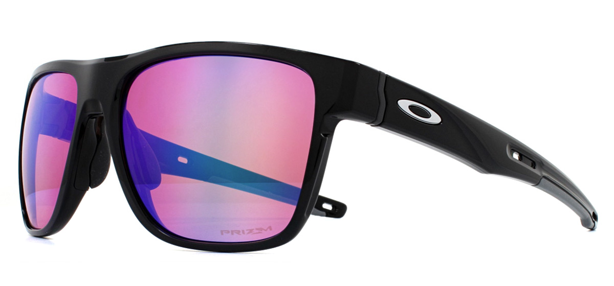 25df0f1a2f Sentinel Oakley Crossrange XL Sunglasses Polished Black OO9360-04 Prizm  Golf. Sentinel Thumbnail 2