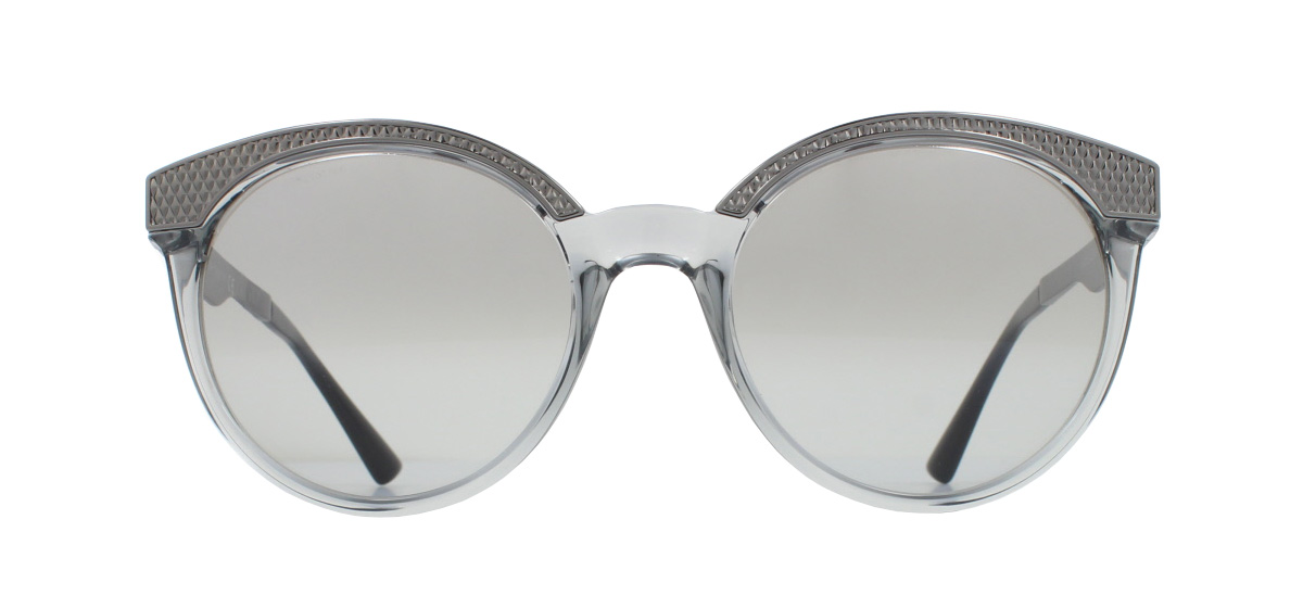 f24a9aea5e Sentinel Versace VE4330 Sunglasses Transparent Grey 52066V Grey Mirror  Gradient Silver