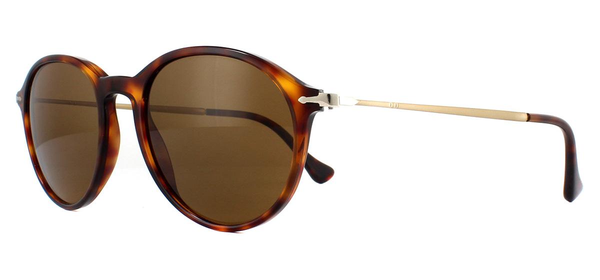 483d62aa0e Sentinel Persol PO3125S Sunglasses Havana 24 57 Brown Polarized 49mm
